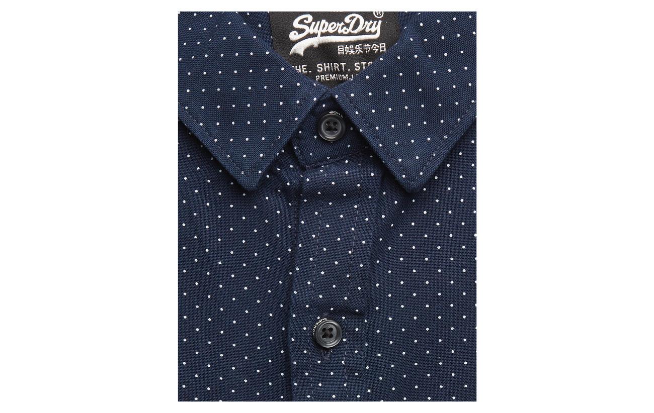 Dwn Dot s Grindle Chemises Shirt Superdry Buttn Shoreditch L Midnight qBzqwEfv