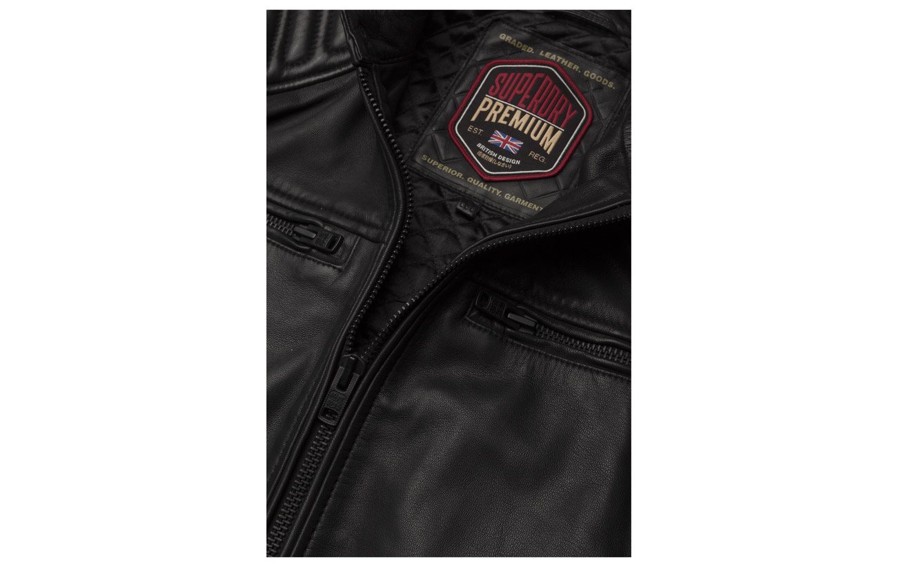 Superdry Black Racer Hero New Leather wZSOrwx8qF