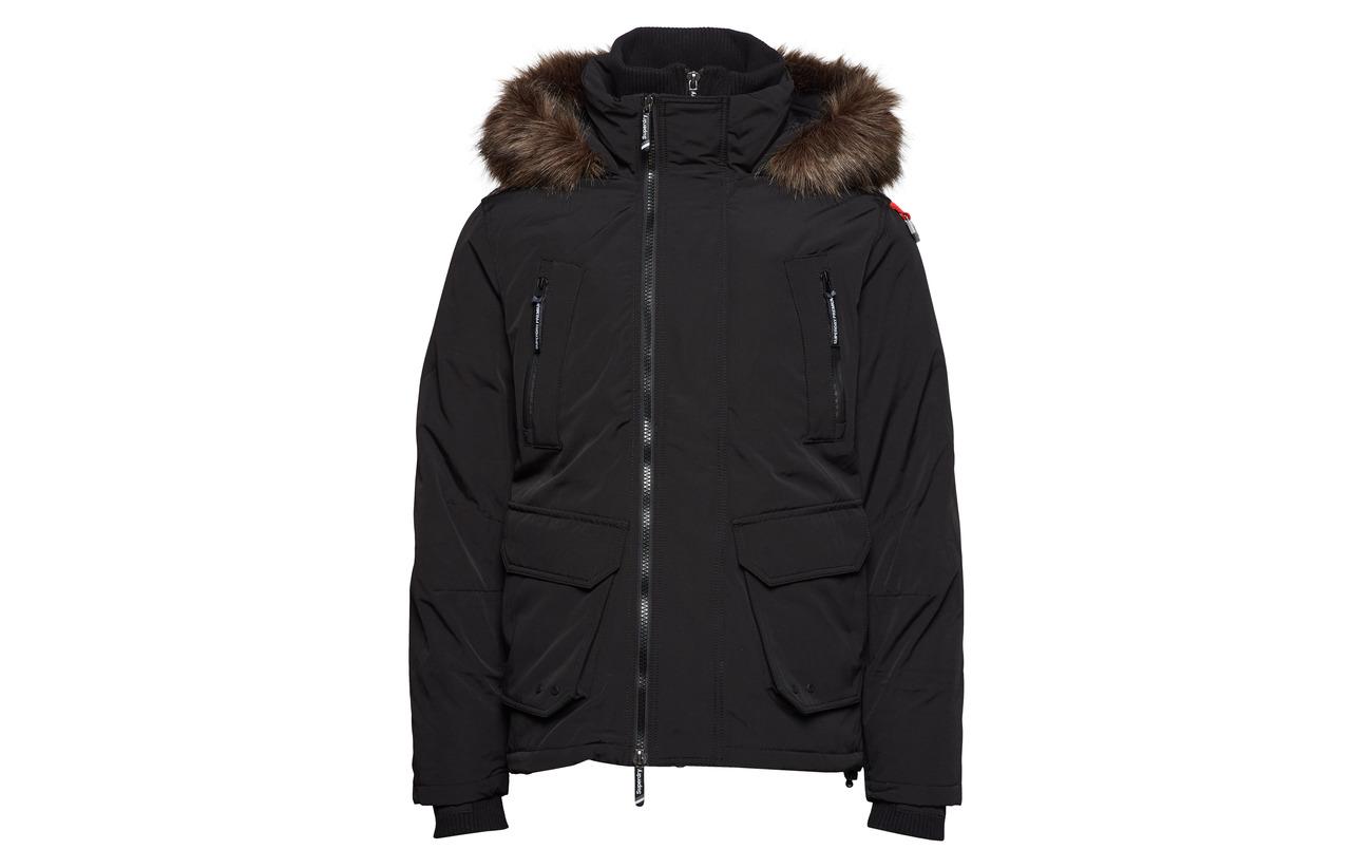 Superdry Ultimate Premium Jacket Black Down crwrHP1q04