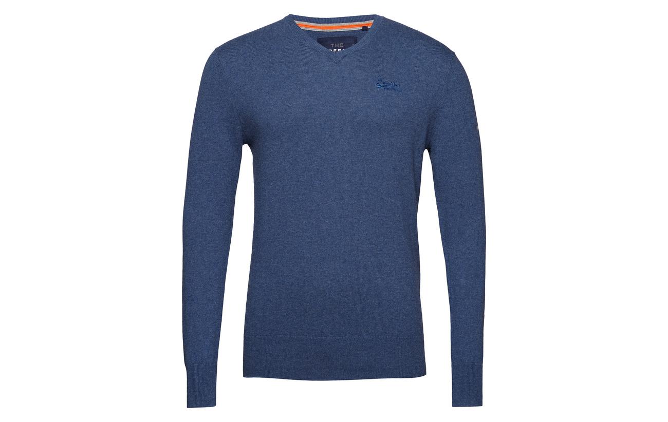 Blue Orange Mid Label Superdry Vee wvIgx6nqn