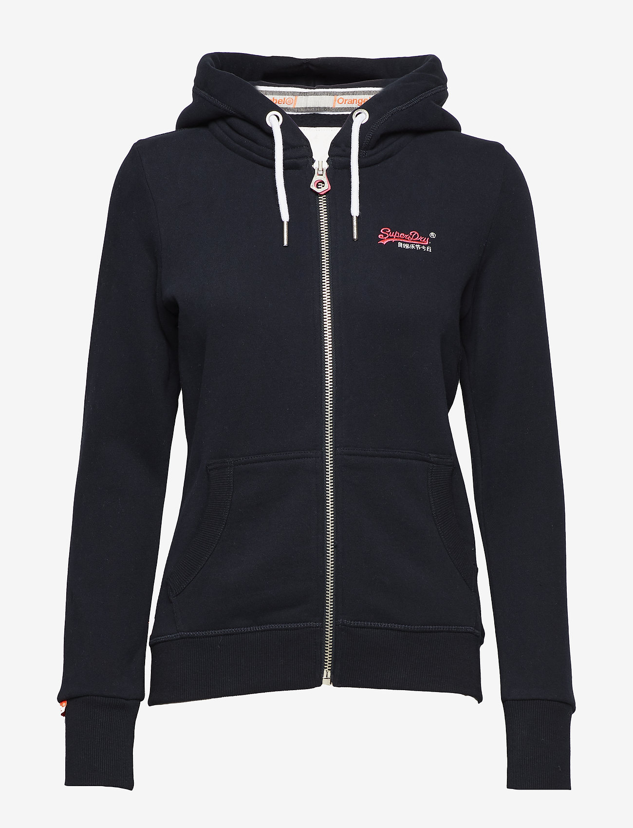 Superdry - ORANGE LABEL ZIPHOOD - hettegensere - eclipse navy - 0