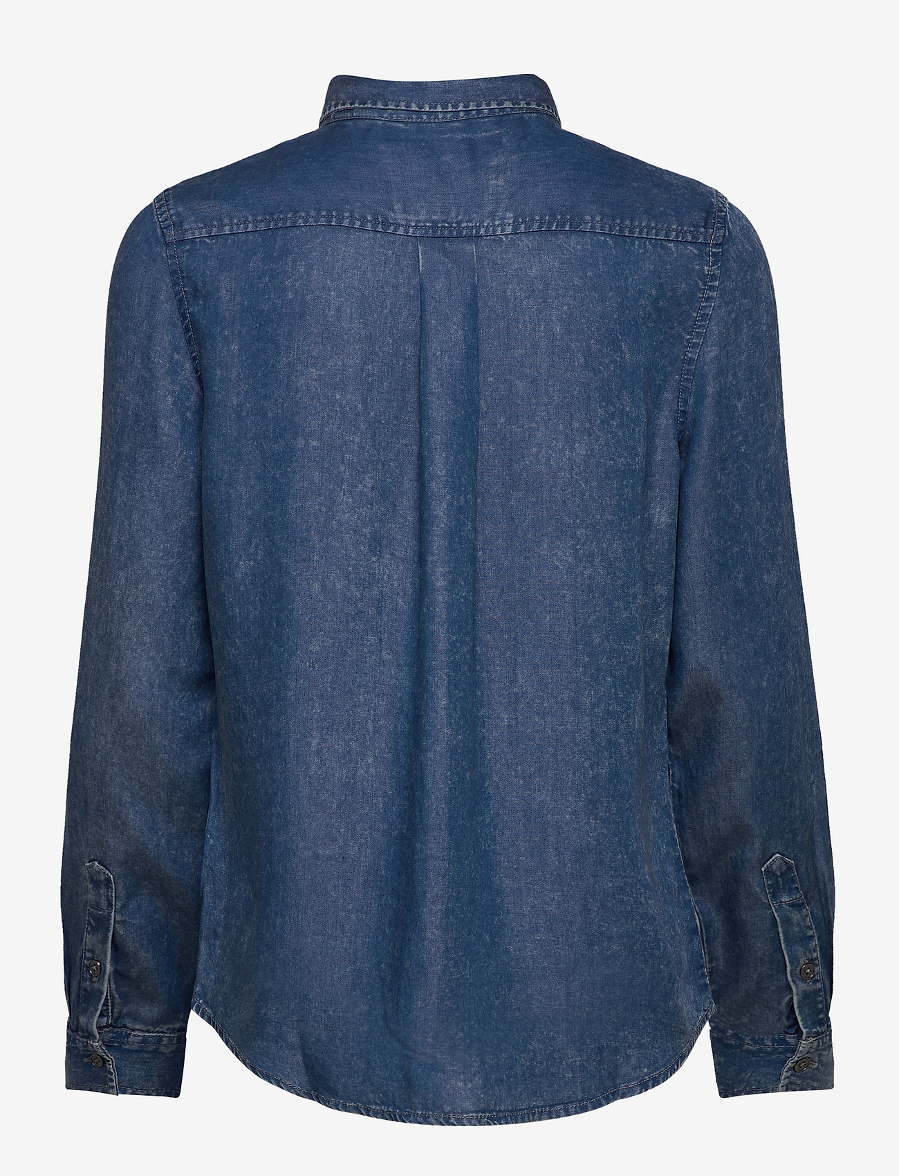 Superdry - XENIA ACID WASH SHIRT - jeansblouses - blue acid wash - 1