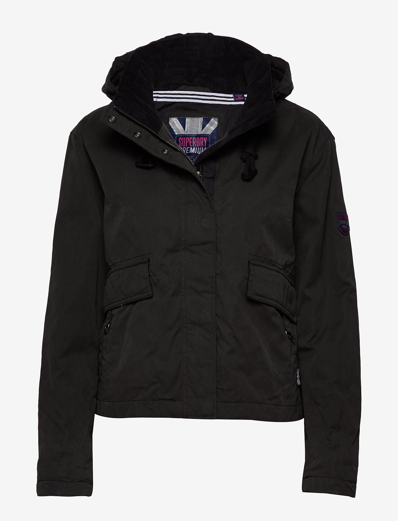Superdry - TRAIL DRIFT JACKET - down- & padded jackets - washed black - 0