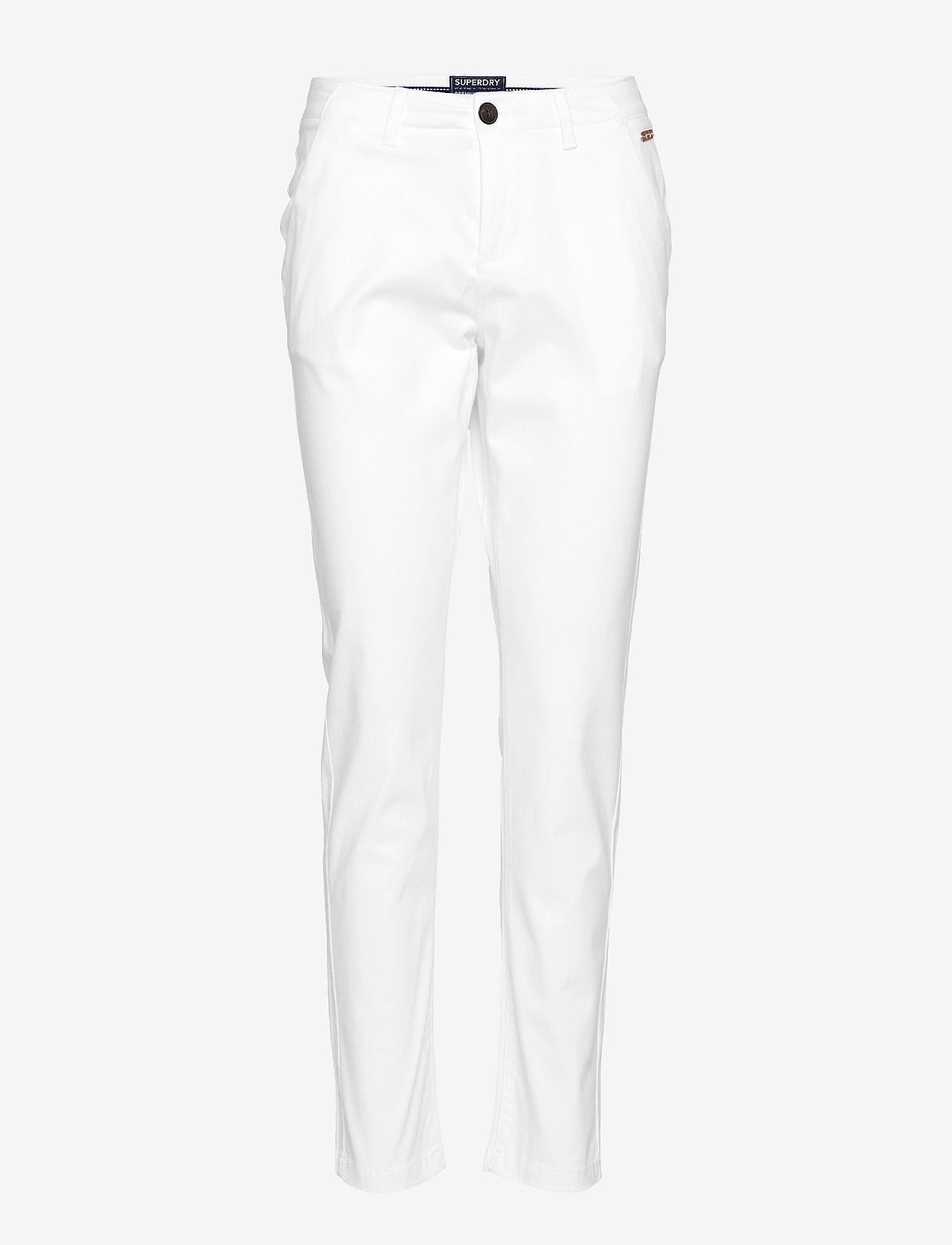 City Chino Pant (Optic White) (21 €) - Superdry Wppt0