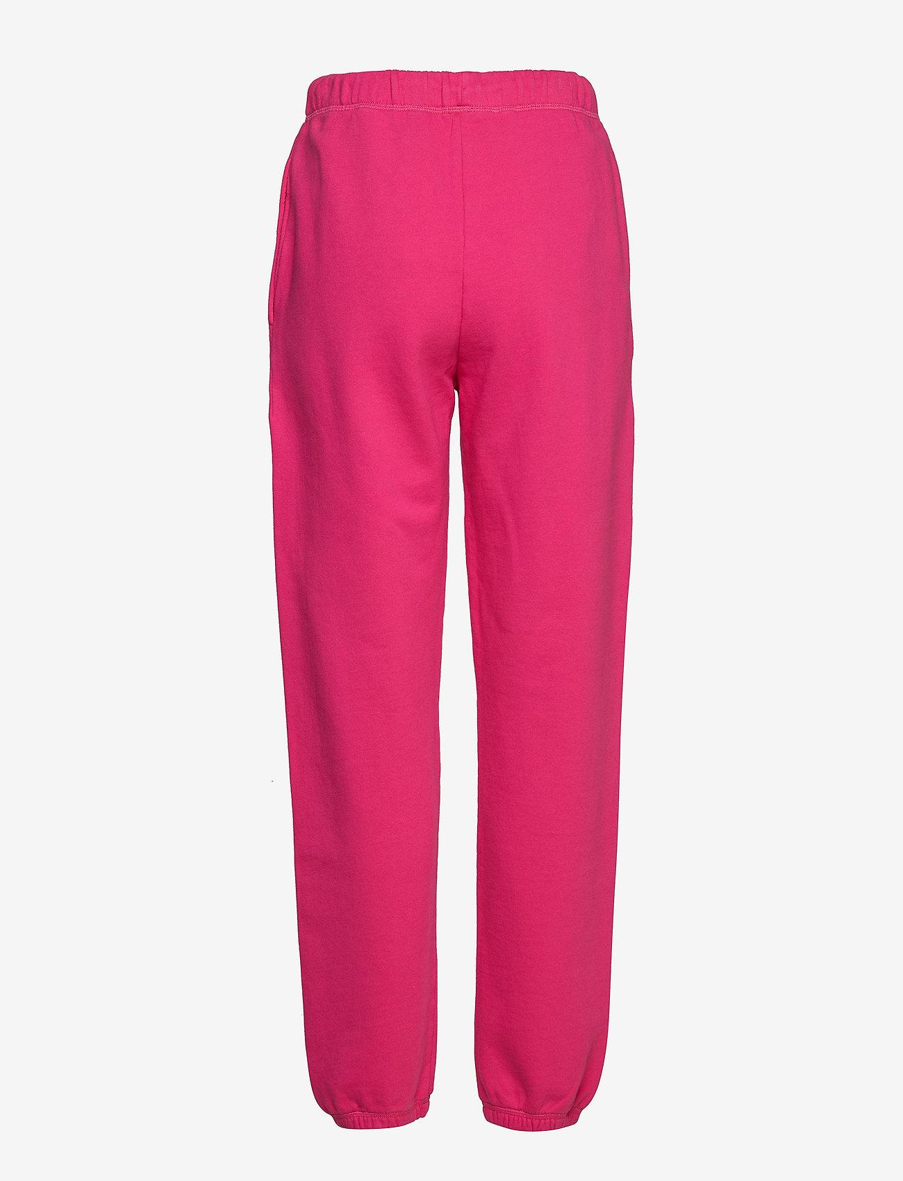 Superdry ELISSA JOGGERS - Spodnie dresowe SIENNA PINK - Kobiety Odzież.