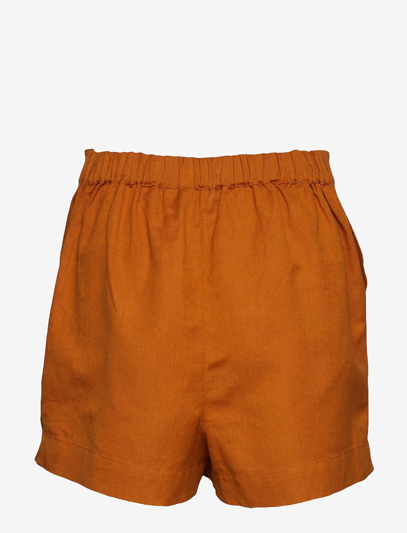 Superdry - MILA CULOTTE SHORTS - shorts casual - ochre - 1