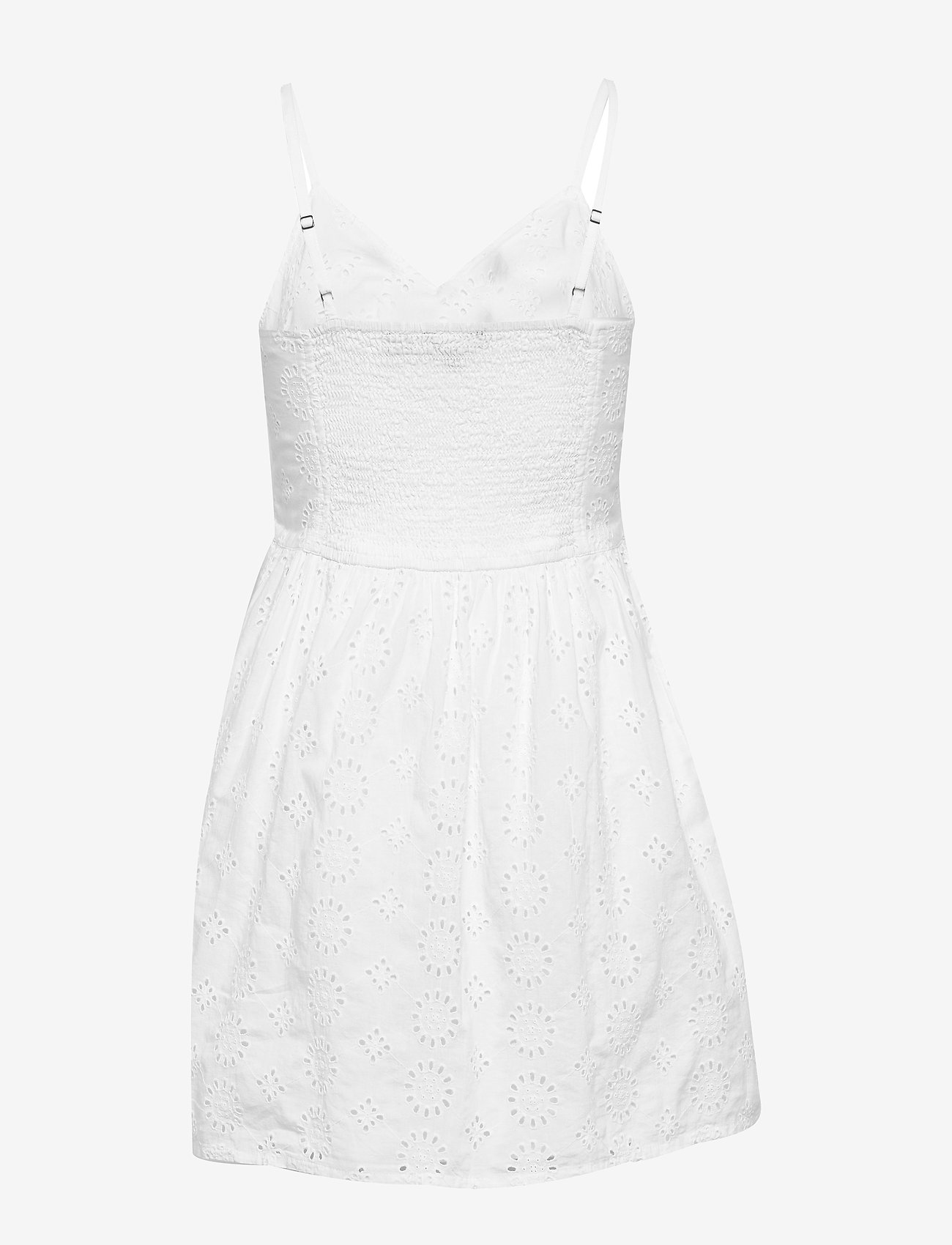 Alice Knot Dress (Optic White Schiffli) - Superdry KWYbS4