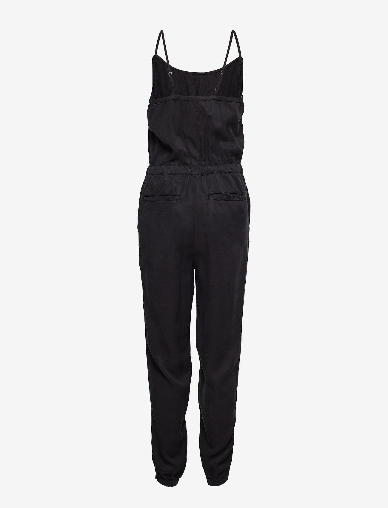 Superdry Reah Boho Jumpsuit - Jumpsuits Washed Black