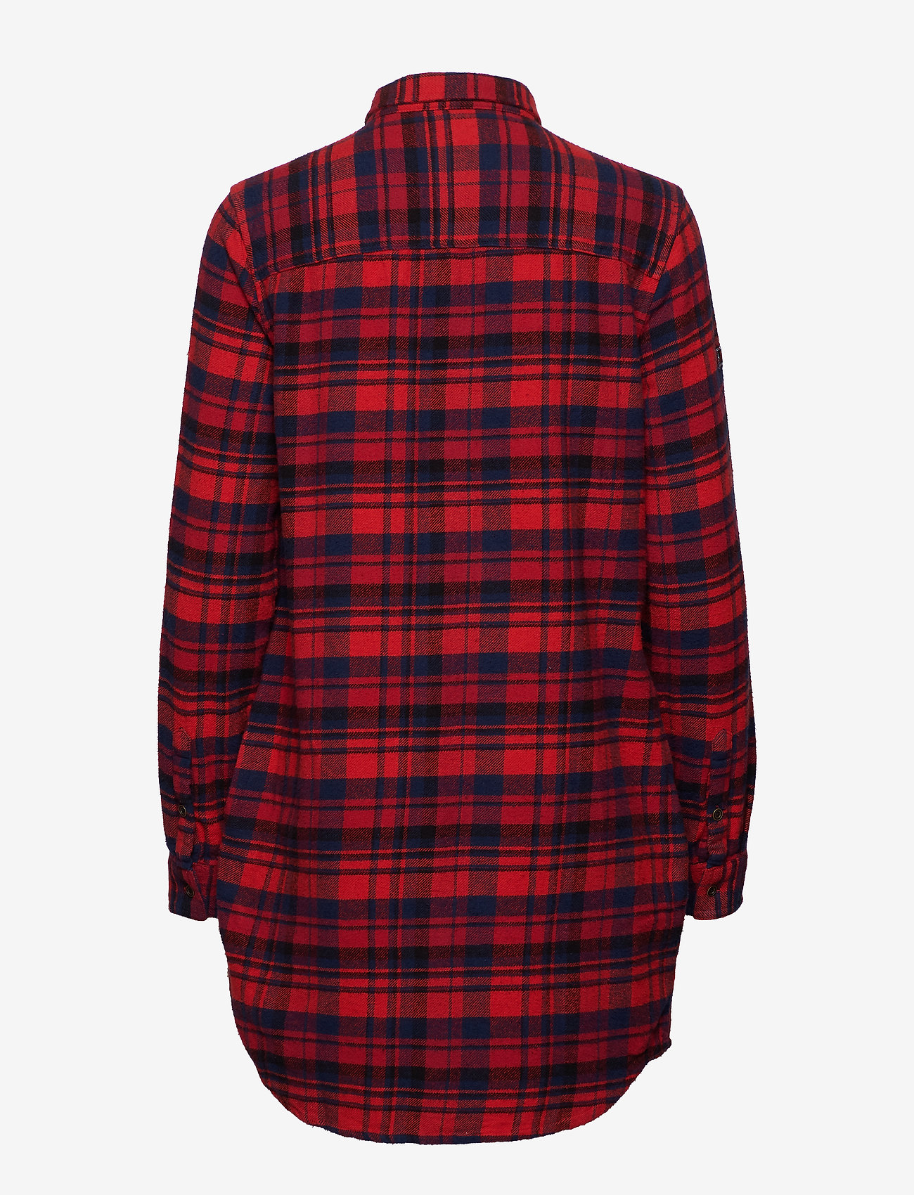 Superdry Willow Check Shirt Dress - Blouses & Shirts