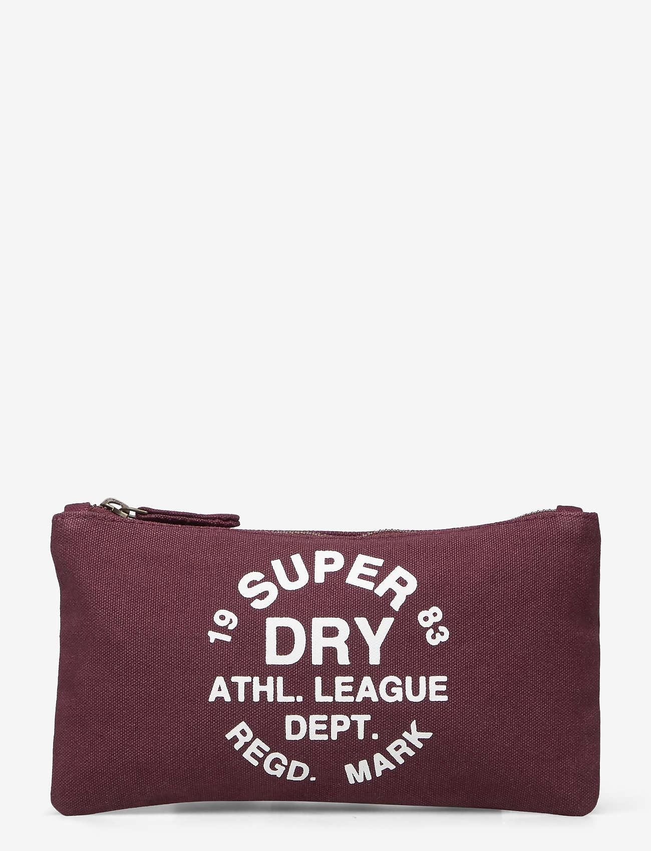 Superdry - ATHL LEAGUE PENCIL CASE - etui - burgundy - 0