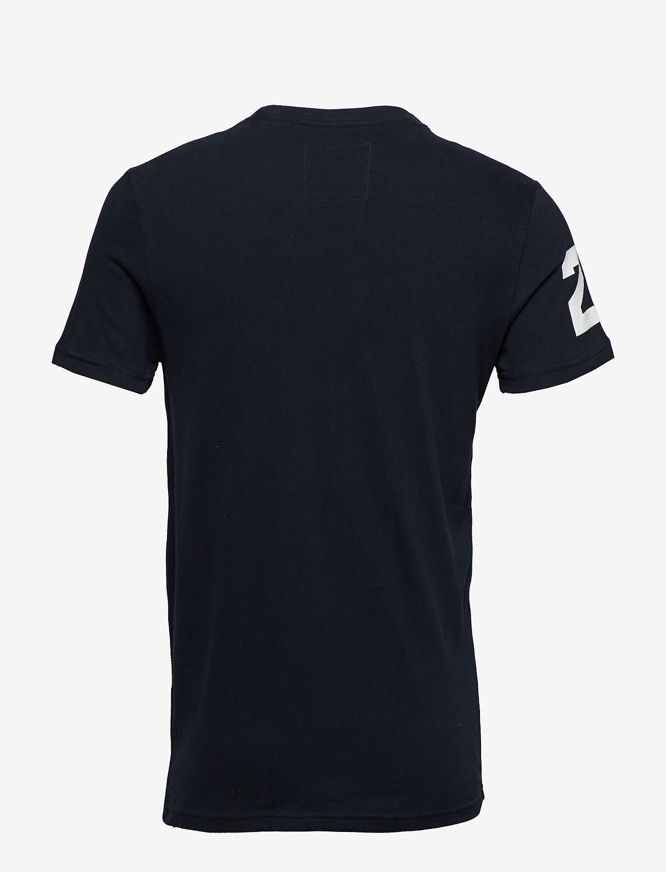 Superdry - VINTAGE LOGO TRI TEE - short-sleeved t-shirts - eclipse navy - 1