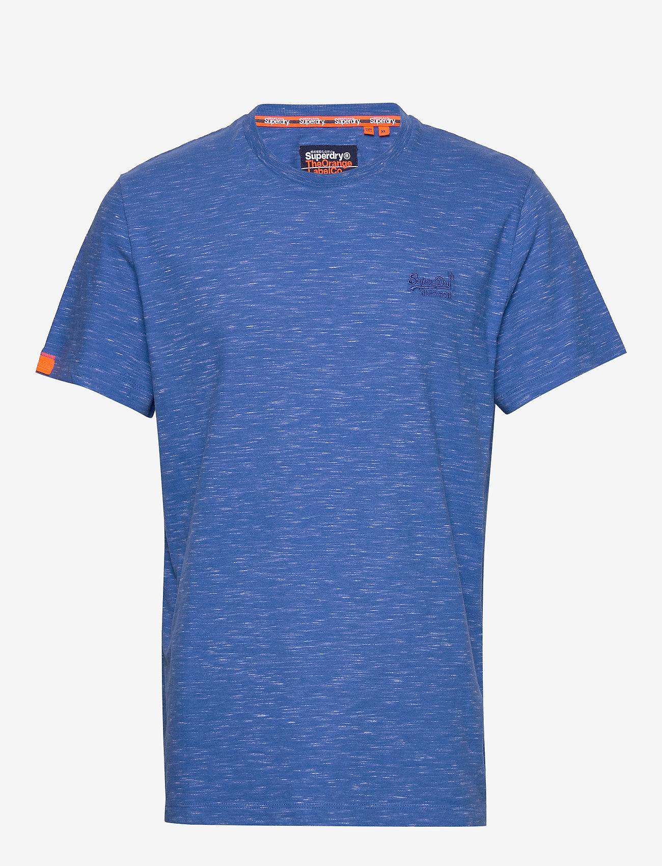 Superdry OL VINTAGE EMB CREW - T-shirts COBALT SPACE DYE f2KBjdCE