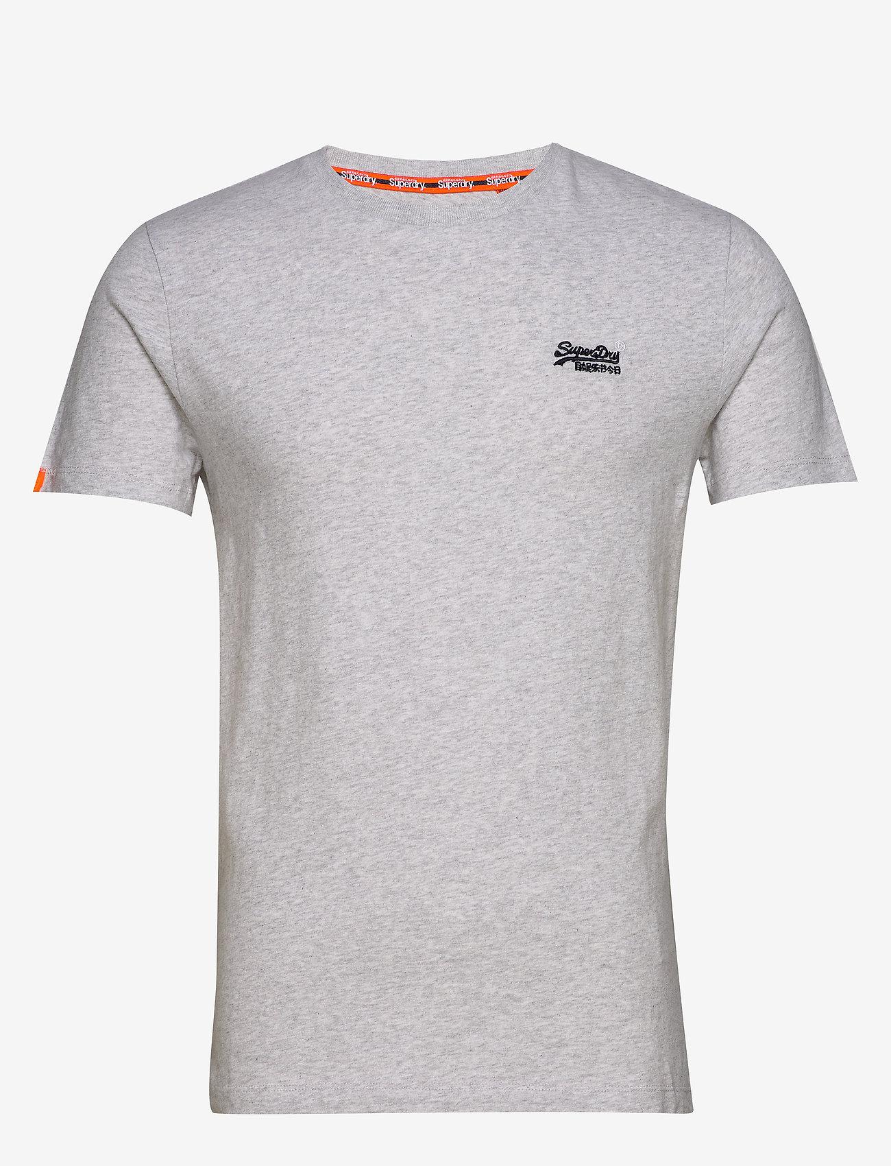 Superdry OL VINTAGE EMB CREW - T-shirts DESERT HINT TEAL MARL BK1OBWej