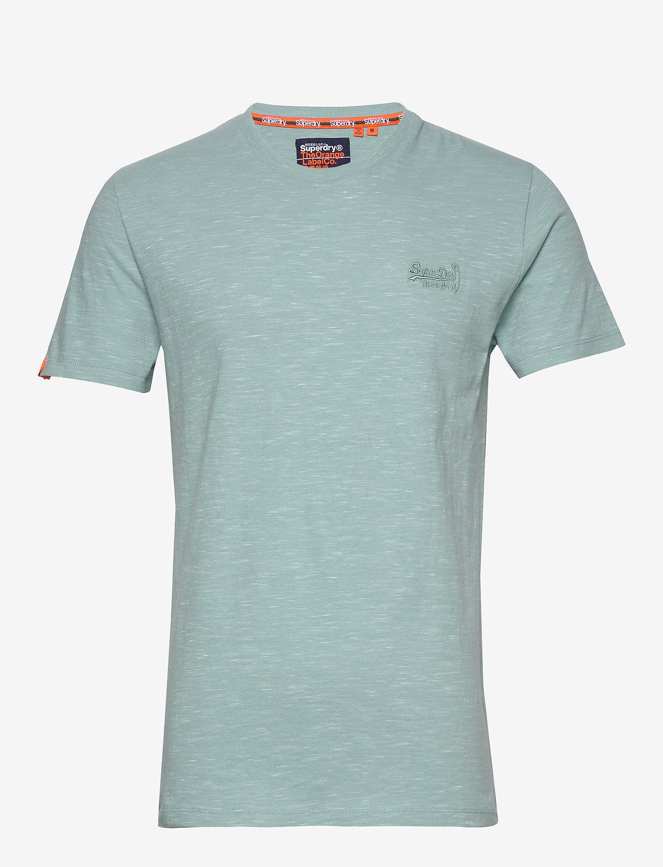 Superdry OL VINTAGE EMB CREW - T-shirts FRESH MINT SPACE DYE EvQp5GXj