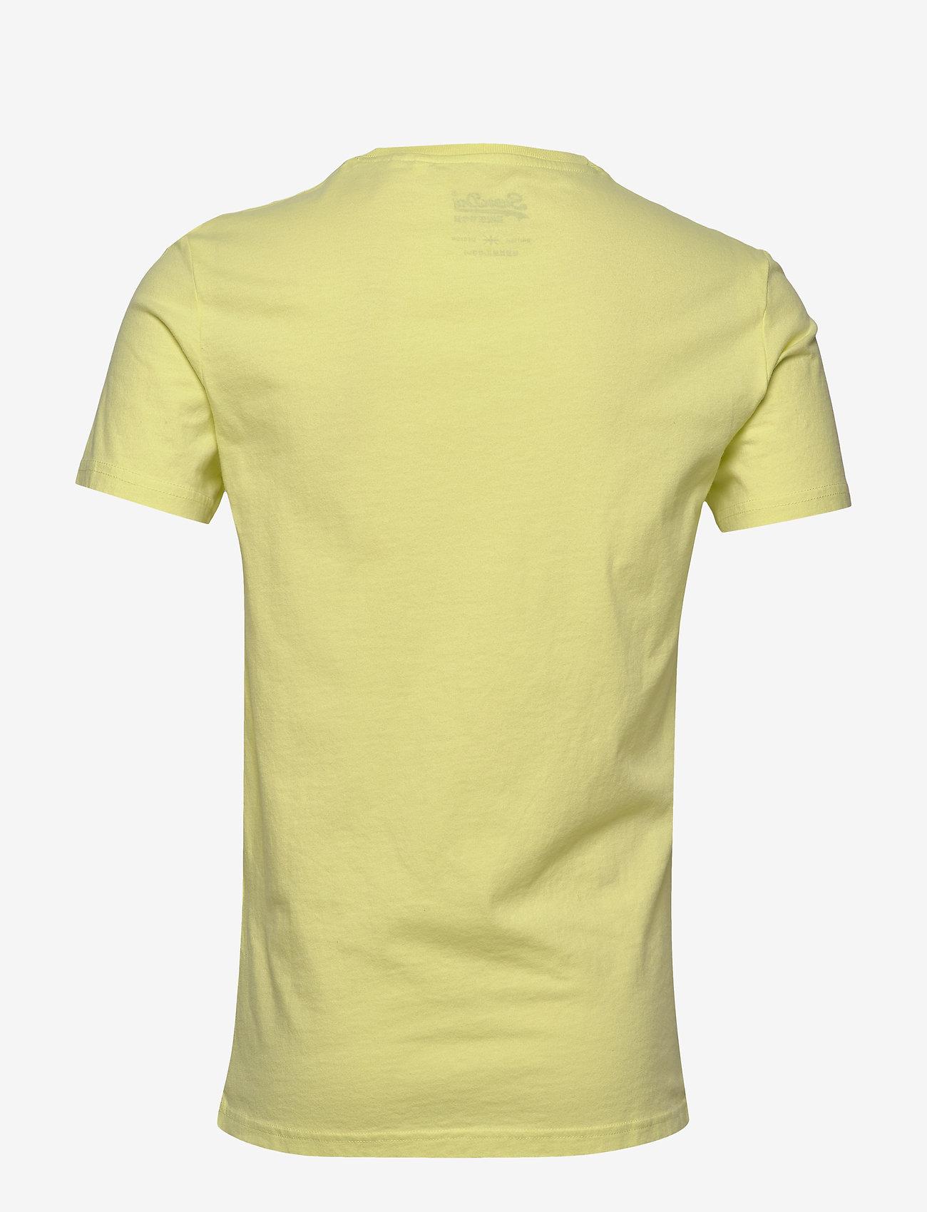 Superdry VL O TEE - T-skjorter CHARLOCK GREEN - Menn Klær