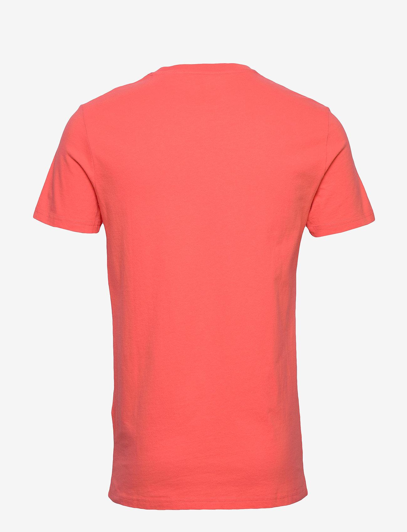 Superdry VL O TEE - T-skjorter MALDIVE PINK - Menn Klær