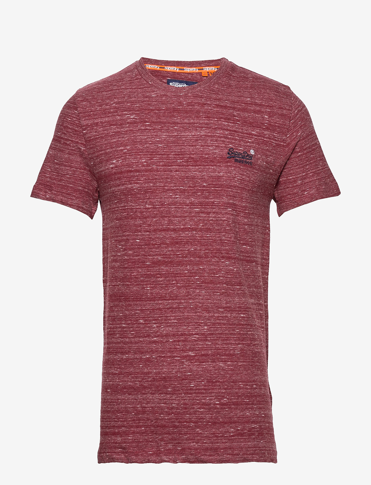 Superdry Ol Vintage Embroidery Tee - T-shirts BRICK RED SPACE DYE NQh0BbXH