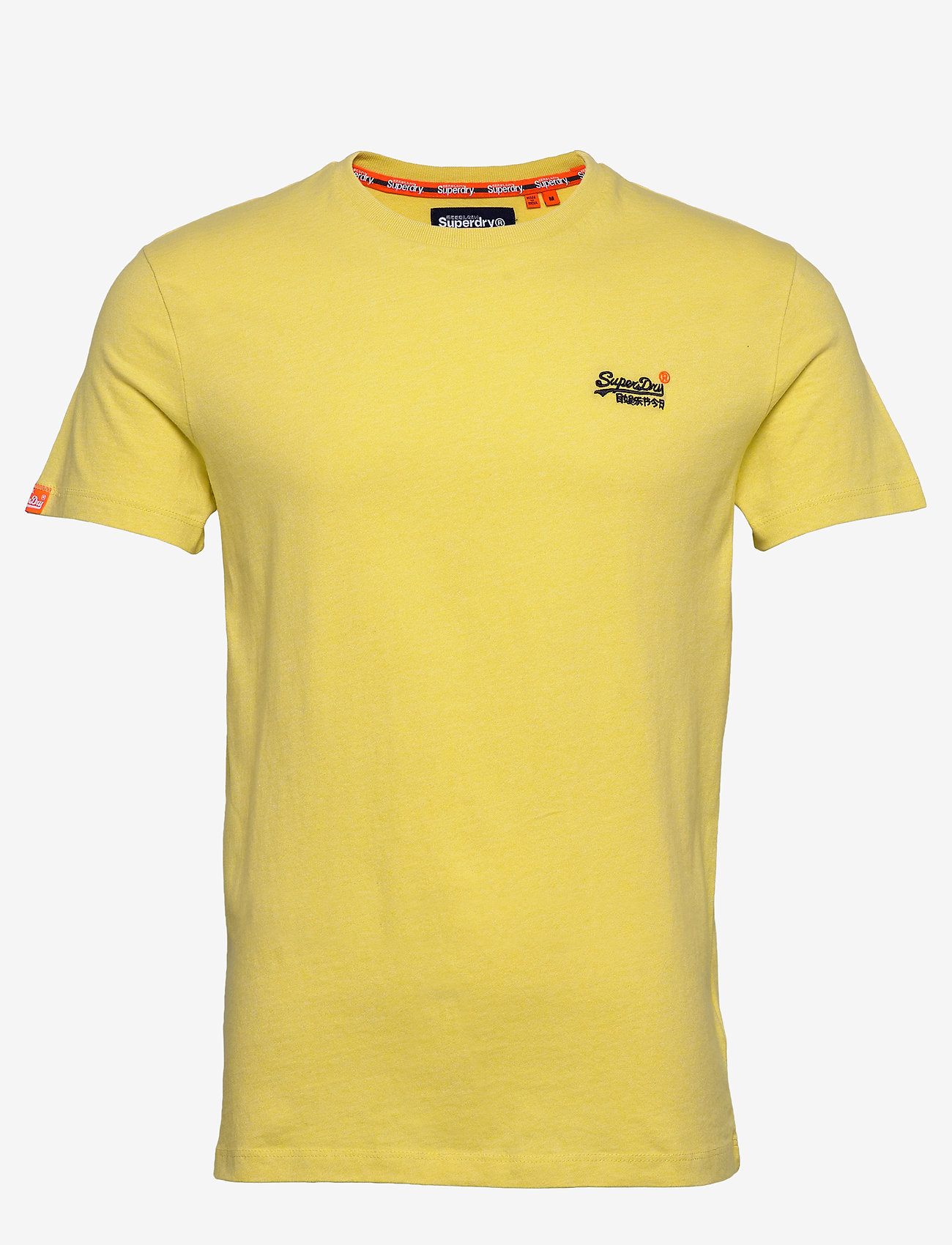 Superdry Ol Vintage Embroidery Tee - T-shirts BRIGHT YELLOW GRIT tjOEdTym