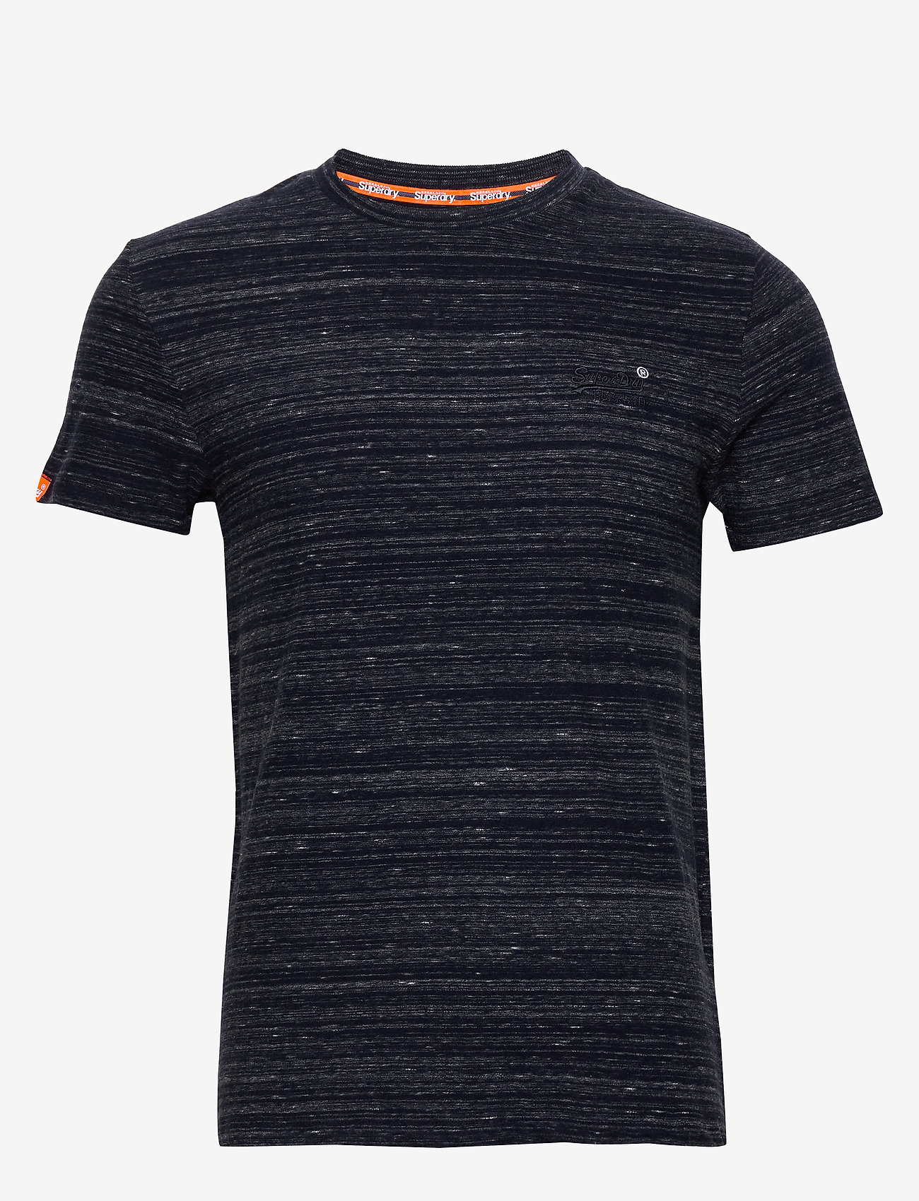 Superdry Ol Vintage Embroidery Tee - T-shirts MIDNIGHT NAVY SPACE DYE wJneXEsm