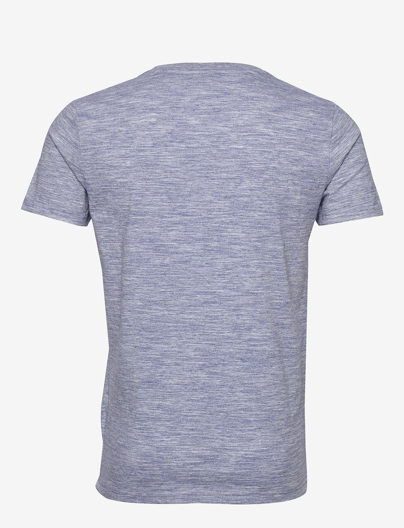 Superdry Vl Premium Goods Tee - T-skjorter MIST BLUE SPACE DYE - Menn Klær