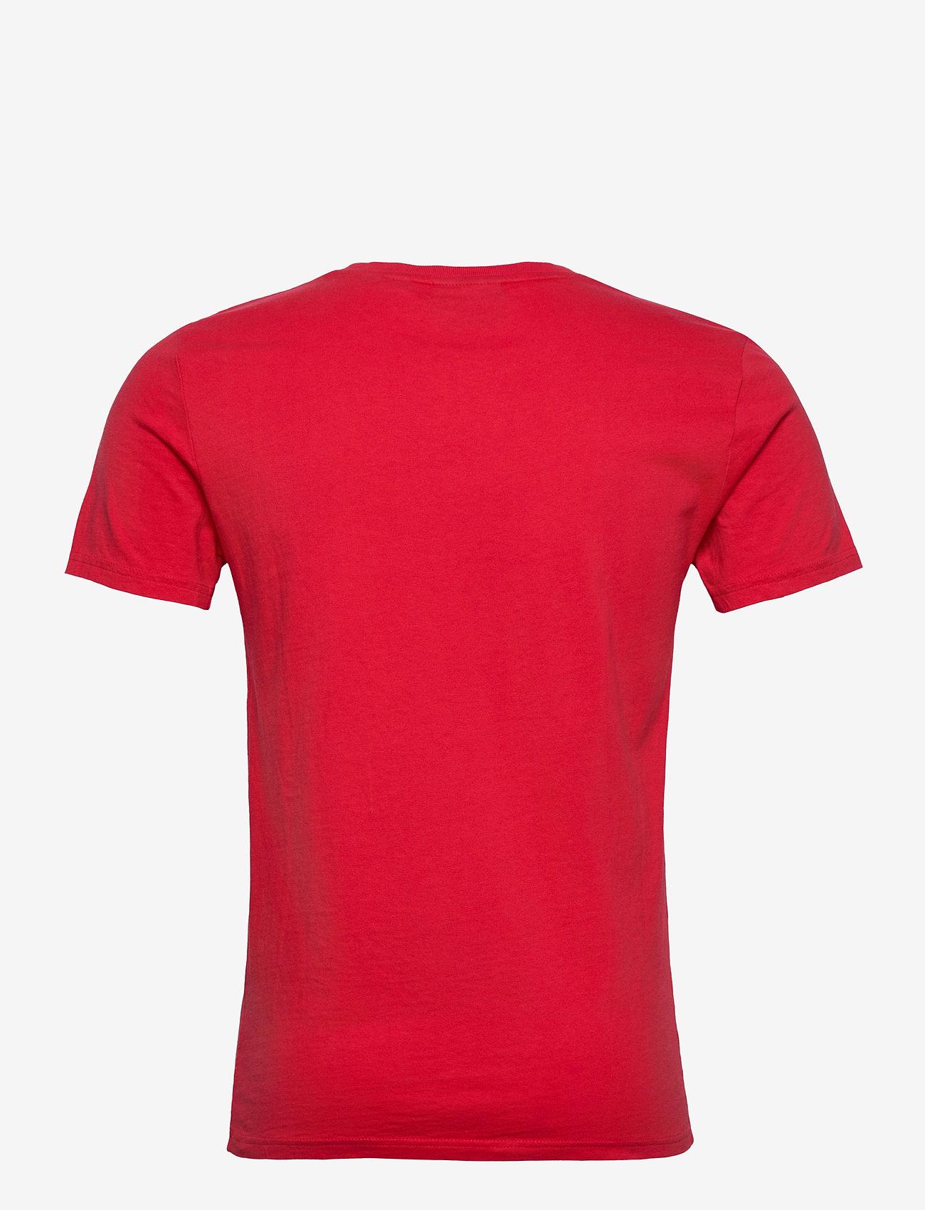 Superdry Core Logo Tonal Tee - T-skjorter GRAPEFRUIT - Menn Klær