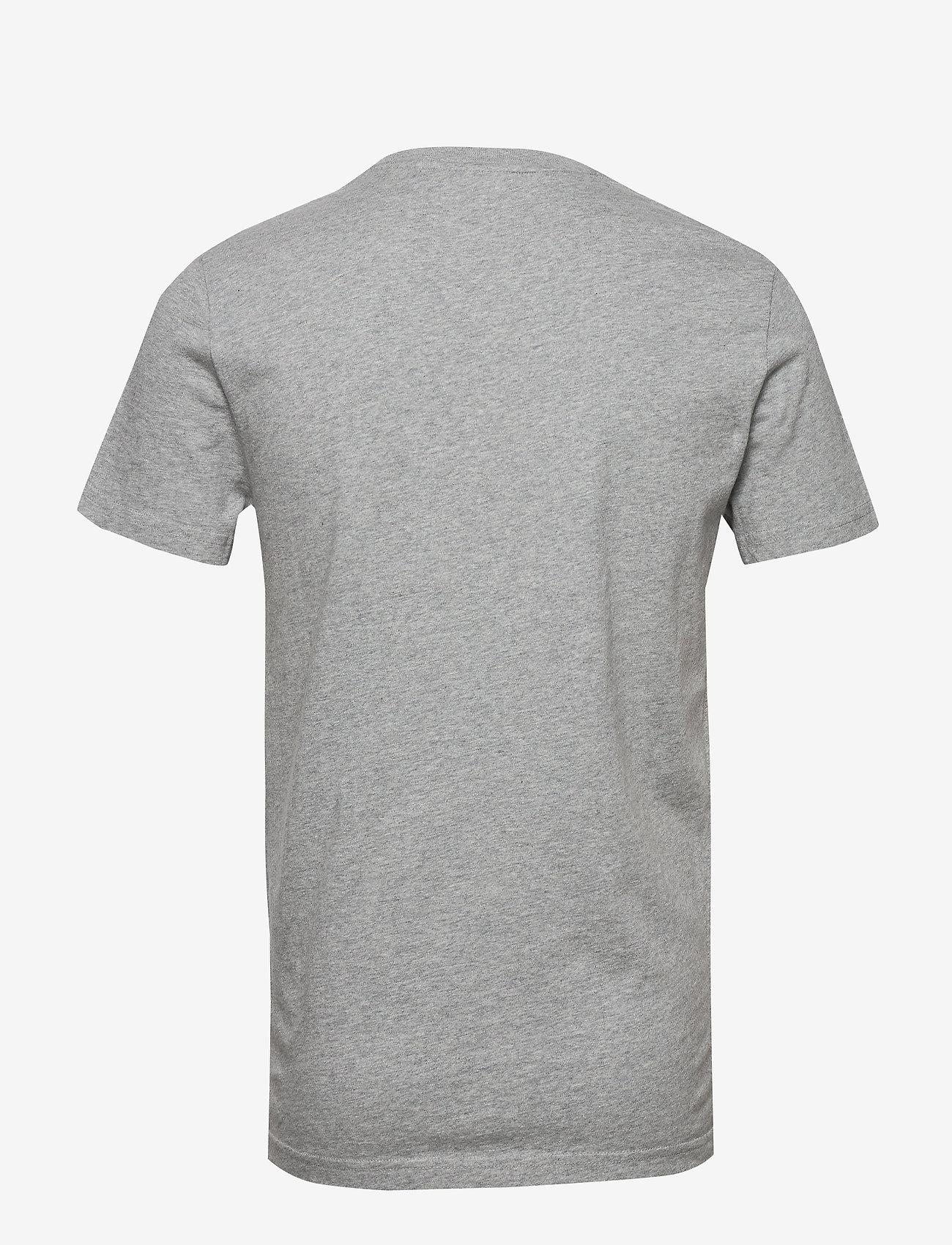 Superdry Dry Goods Pocket Tee - T-skjorter GREY MARL - Menn Klær