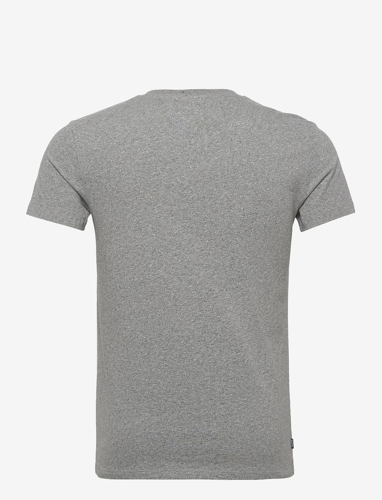 Superdry Ol Classic Vee Tee Ns - T-skjorter NOOS GREY MARL - Menn Klær