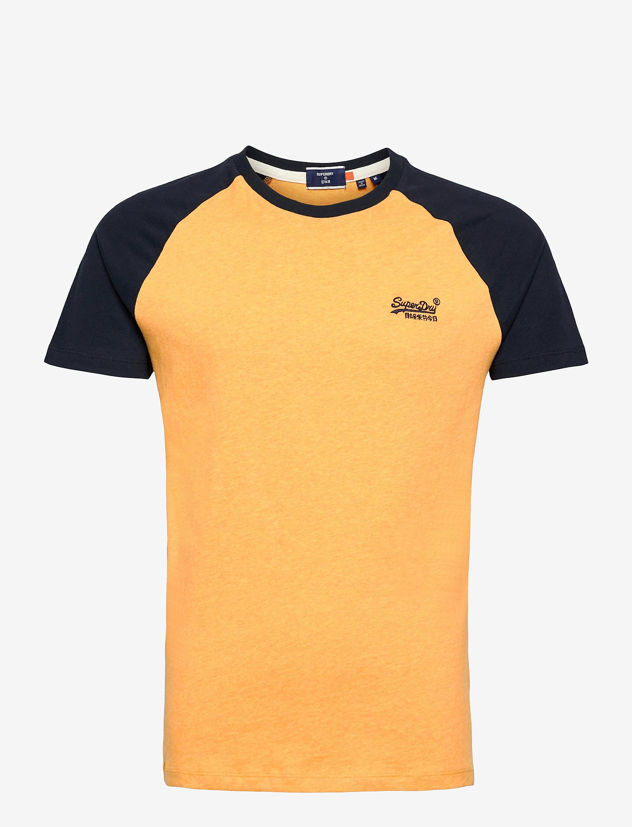 Superdry - OL BASEBALL SS TEE - basic t-shirts - ochre marl - 0