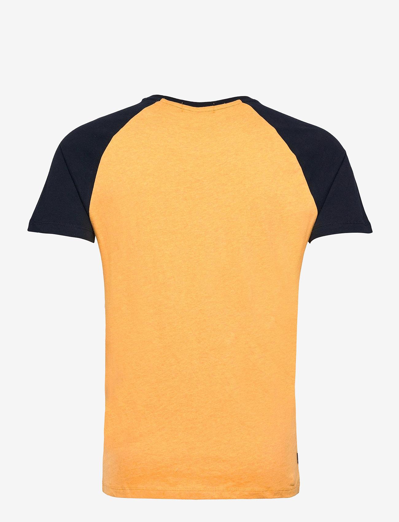 Superdry - OL BASEBALL SS TEE - basic t-shirts - ochre marl - 1