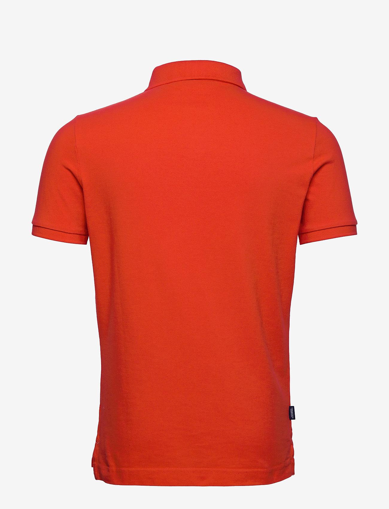 Superdry CLASSIC PIQUE S/S POLO - Poloskjorter APPLE RED - Menn Klær