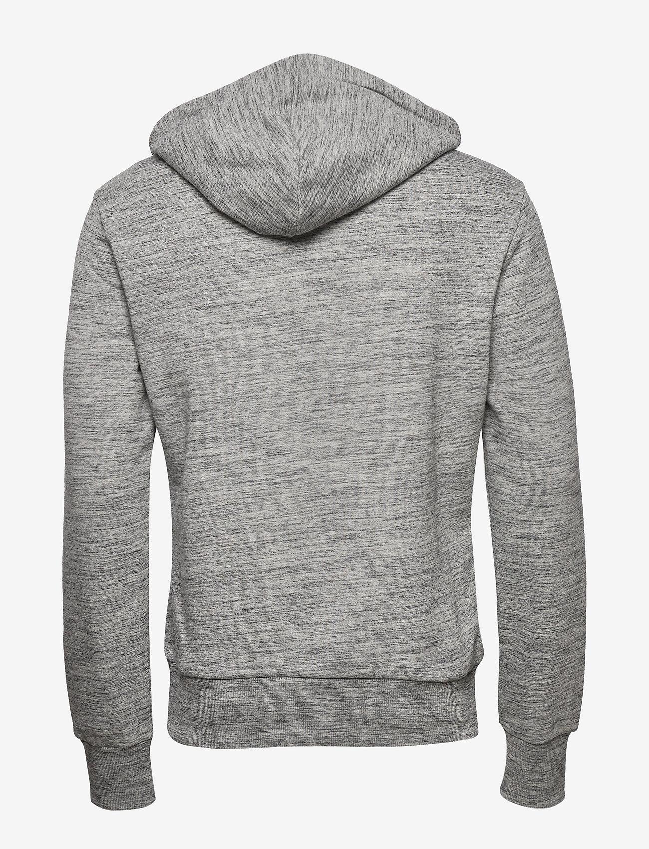 Superdry Vl Pasteline Hood - Sweatshirts CARBON GREY SPACE DYE - Menn Klær