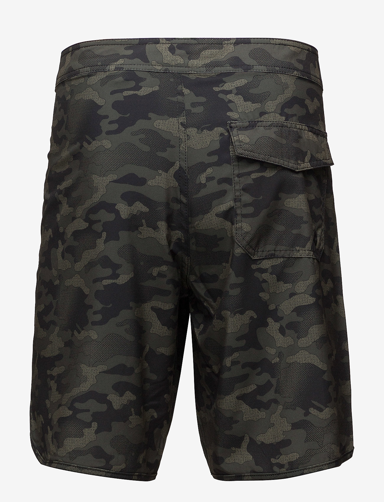 Superdry - DEEP WATER BOARD SHORT - board shorts - khaki camo aop - 1