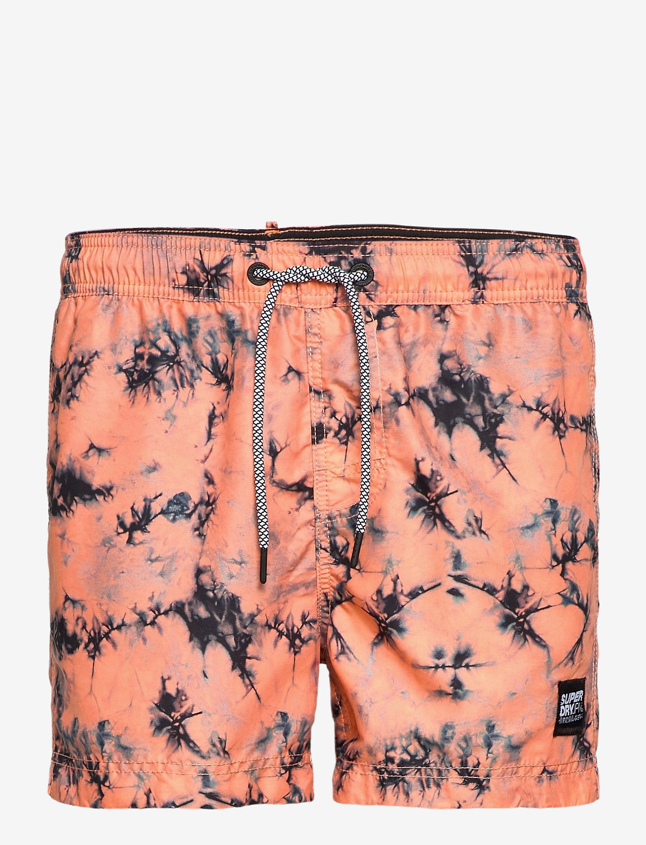 Superdry - TIE-DYE VOLLEY SWIM SHORT - shorts de bain - coral tie dye - 0