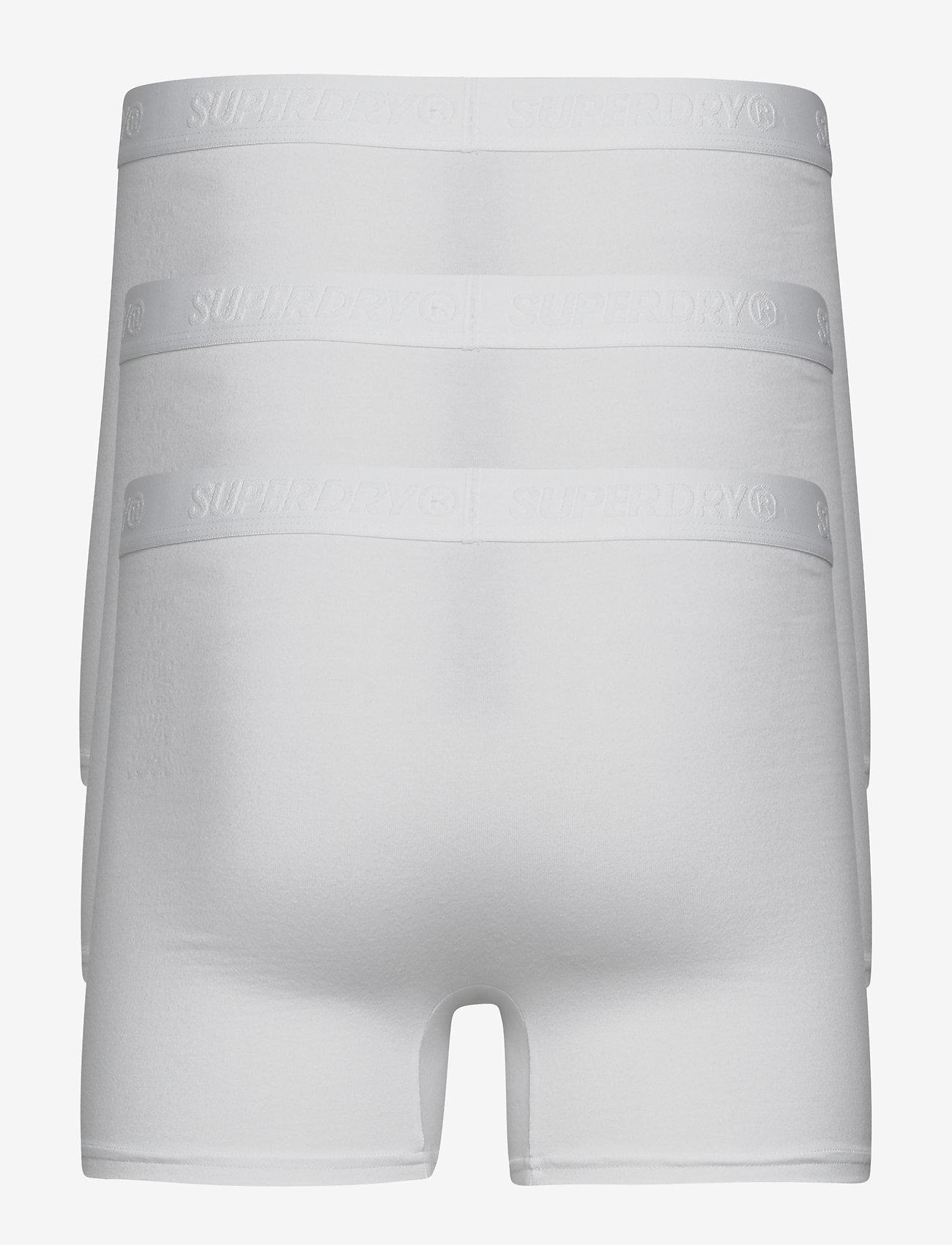 Superdry - CLASSIC BOXER TRIPLE PACK - undertøy - white multipack