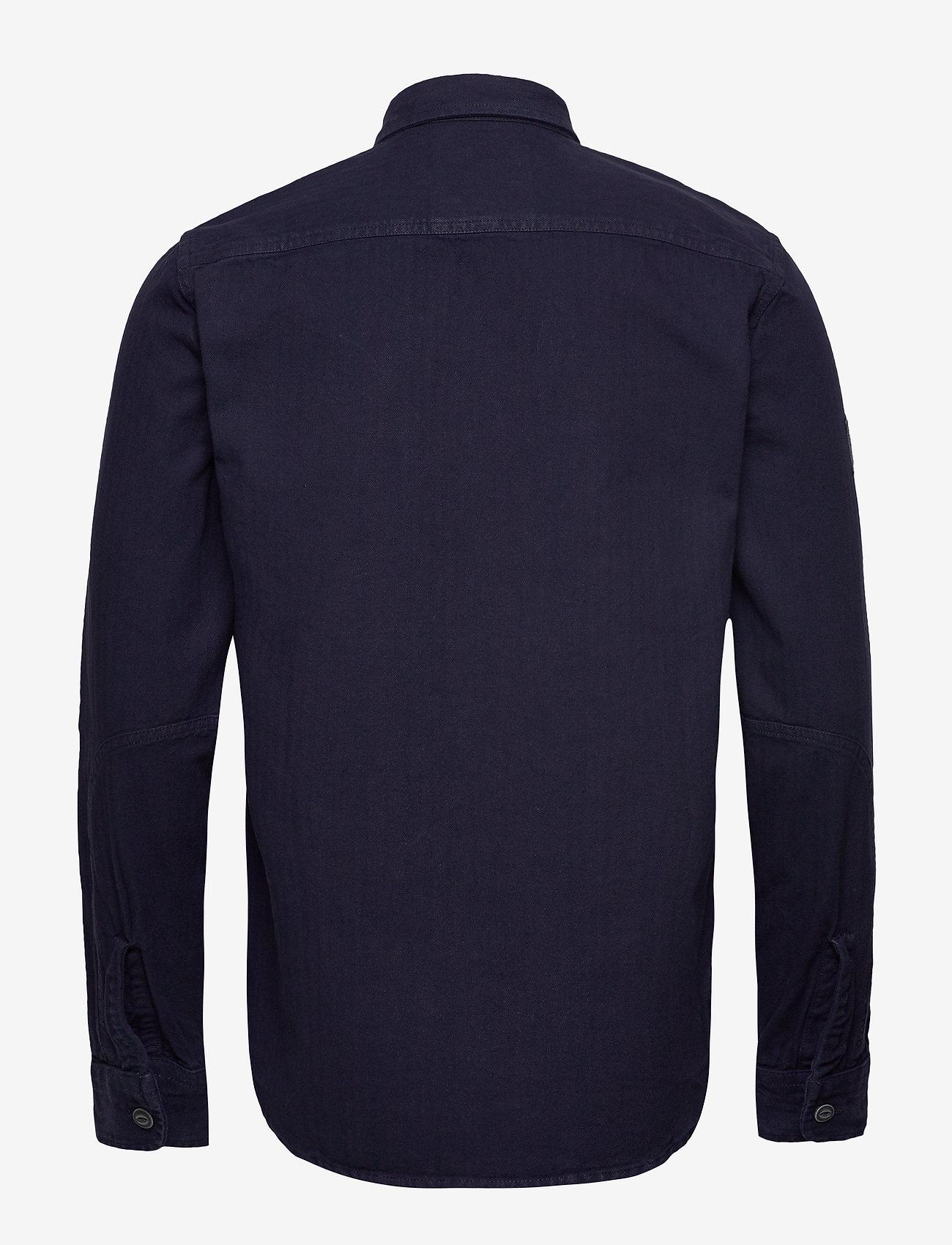 True Riveter Shirt (Ink Herringbone) (384.45 kr) - Superdry