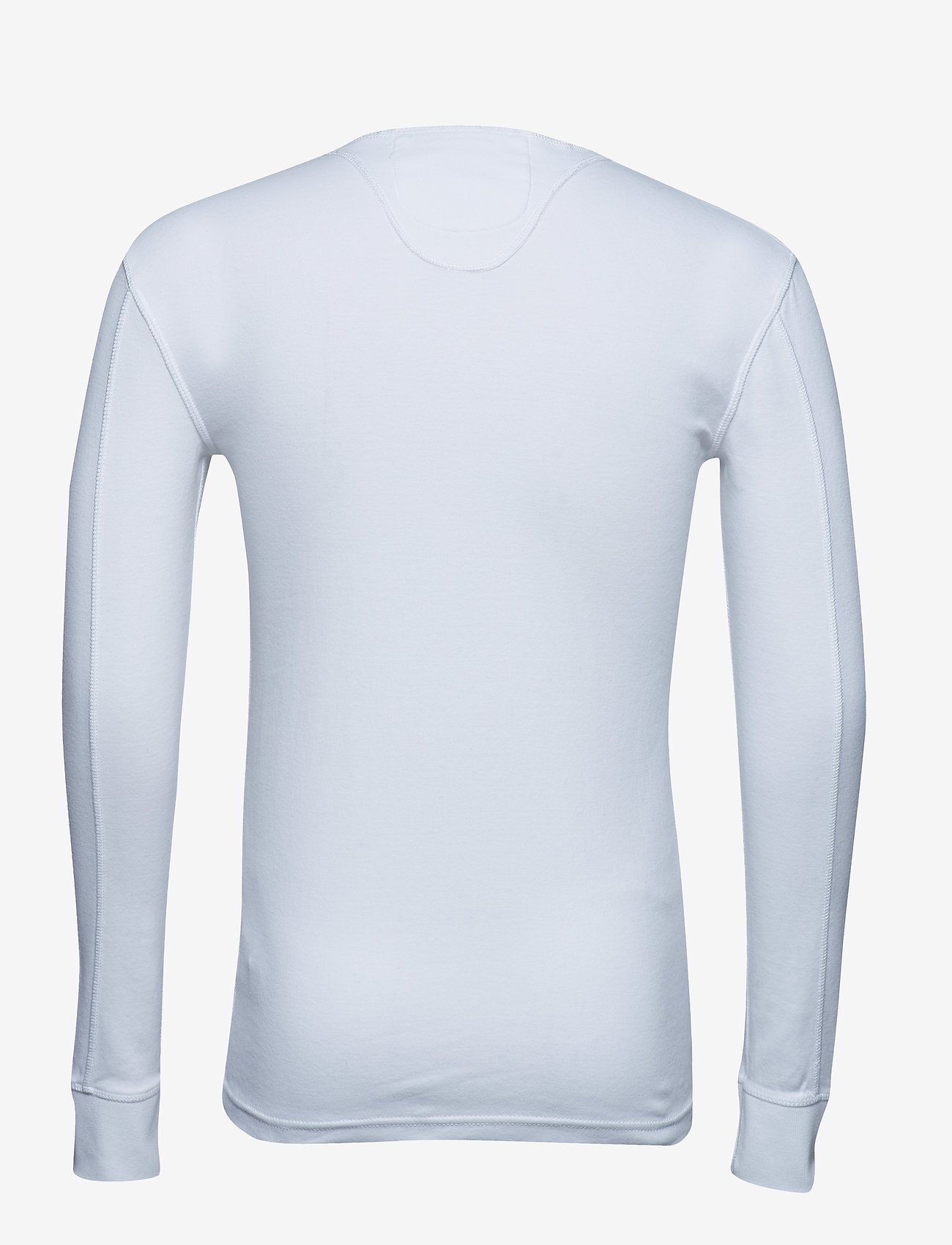 Heritage L/s Grandad (Optic White) (374.25 kr) - Superdry