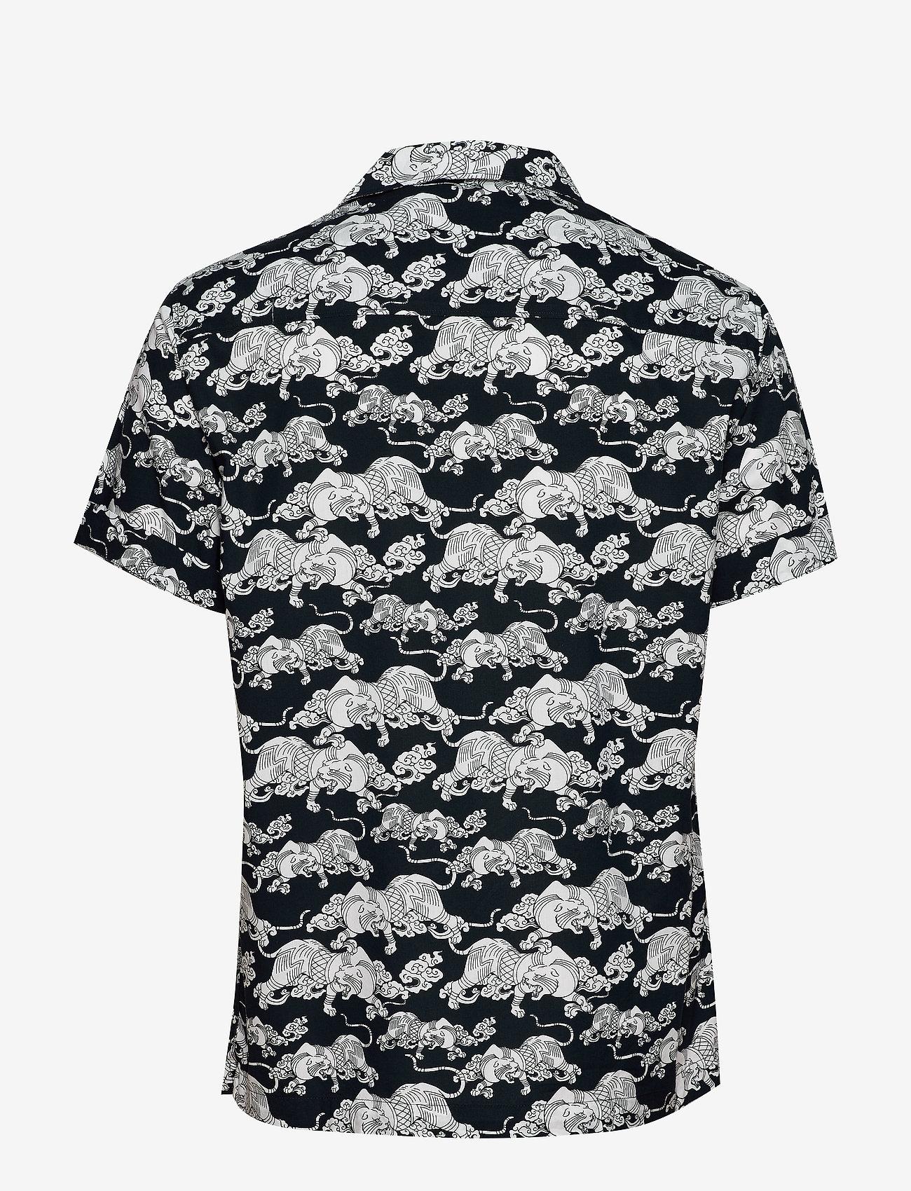 Hawaiian Box S/s Shirt (Navy Aop) (524.25 kr) - Superdry