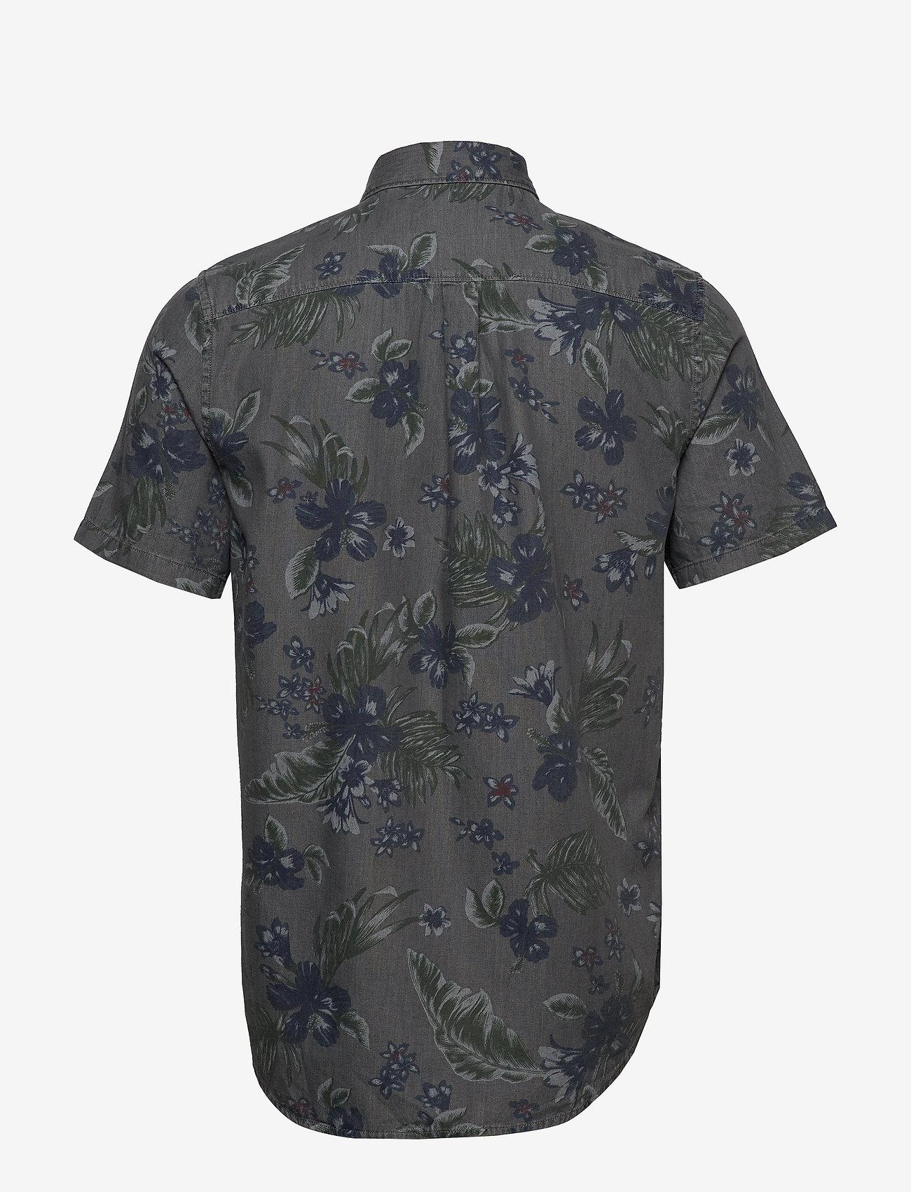 Miami Loom Ss Shirt (Vintage Hawaiian Grey) - Superdry pDqTCH