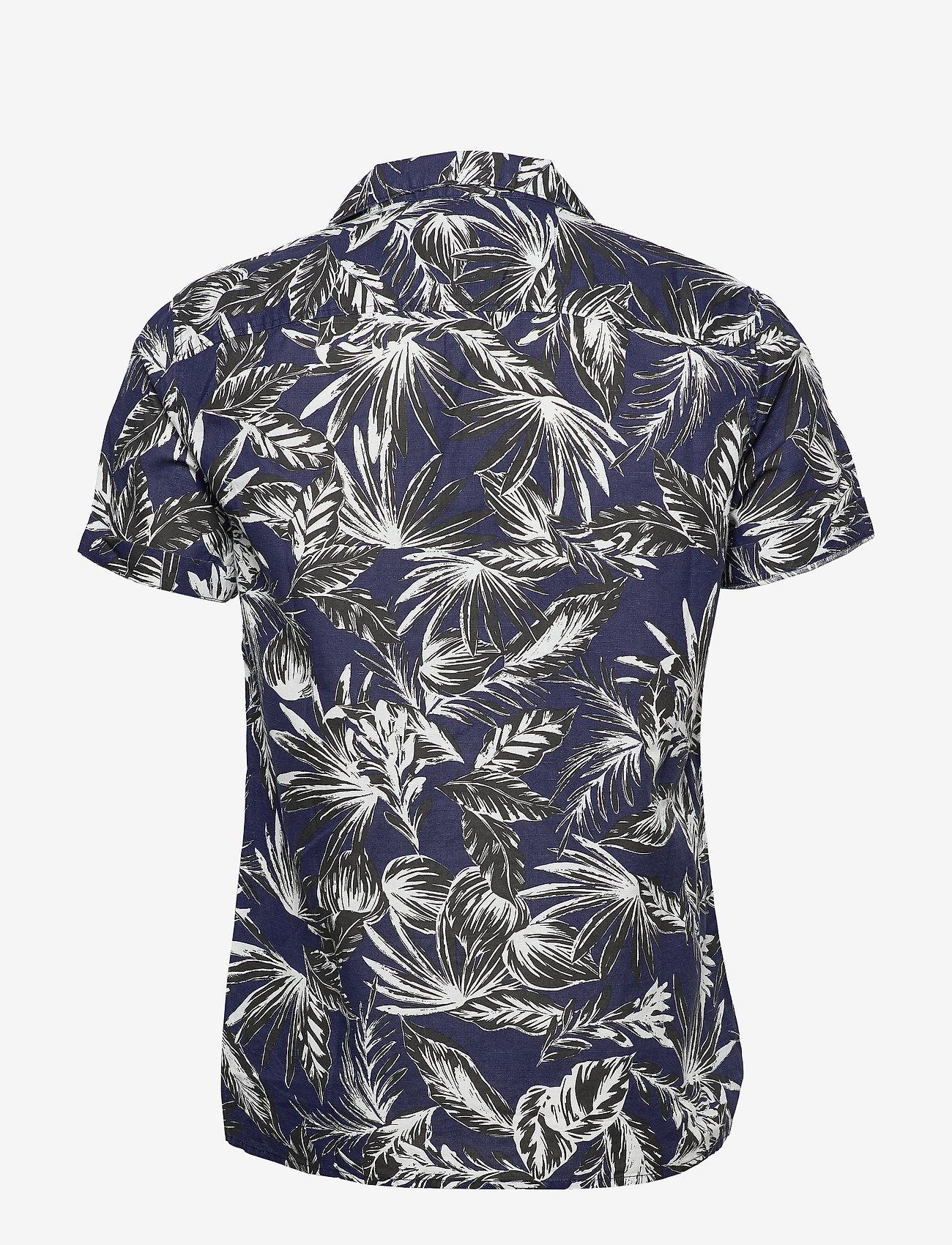 Edit Cabana S/s Shirt (Blue Palm) (699 kr) - Superdry