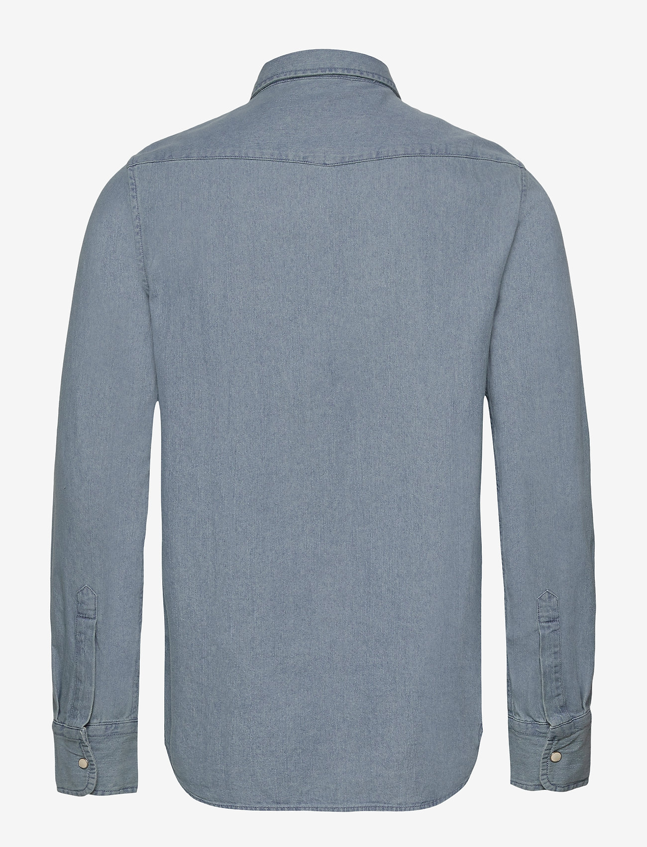 Resurrection L/s Shirt (Mid Blue Wash) (489.30 kr) - Superdry