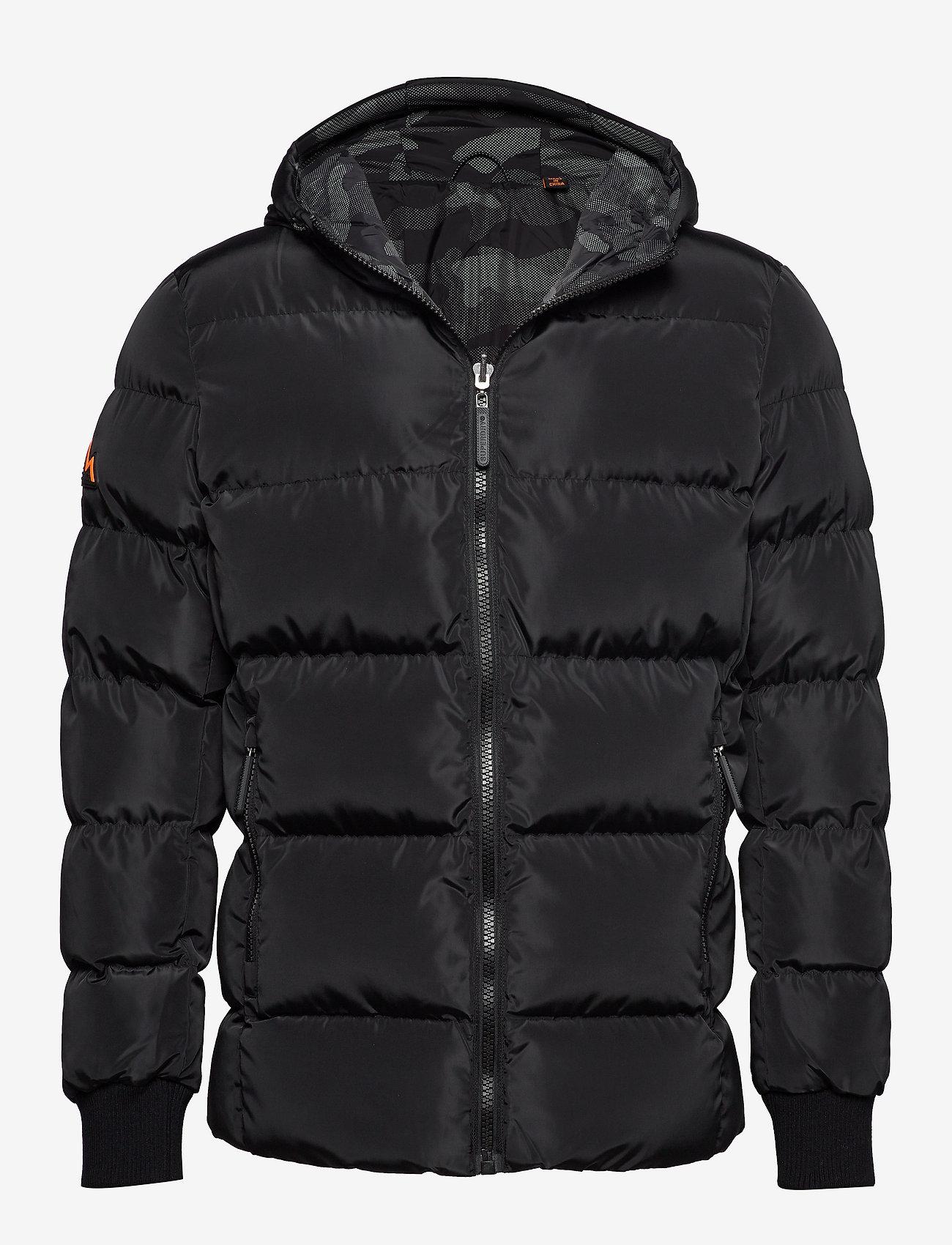 Superdry - CONVERTER PUFFER - padded jackets - black - 0