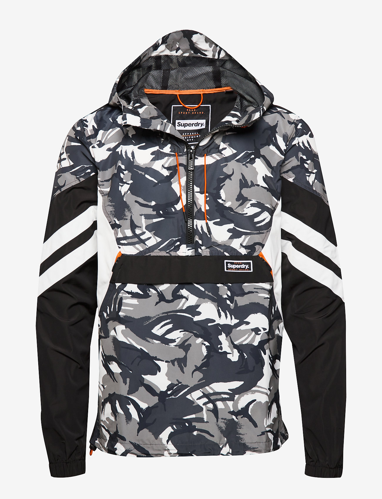 New Mens Superdry Mens Jared Overhead Jacket Camo