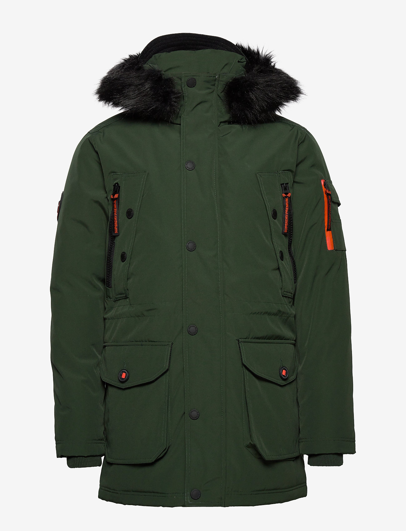 Premium Ultimate Down Parka (Forest Green) - Superdry EXWt8O