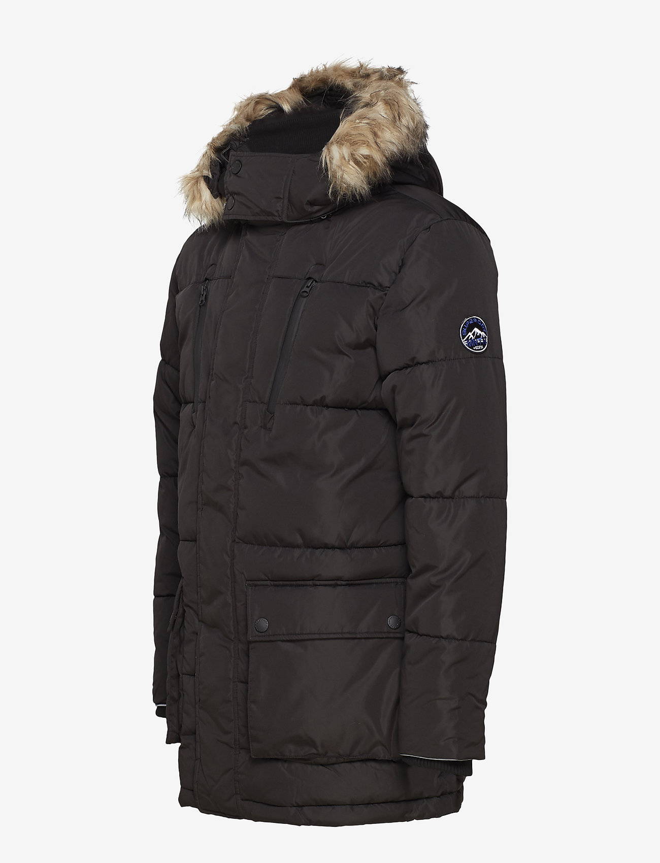 Superdry SD EXPEDITION PARKA - Jakker og frakker BLACK - Menn Klær