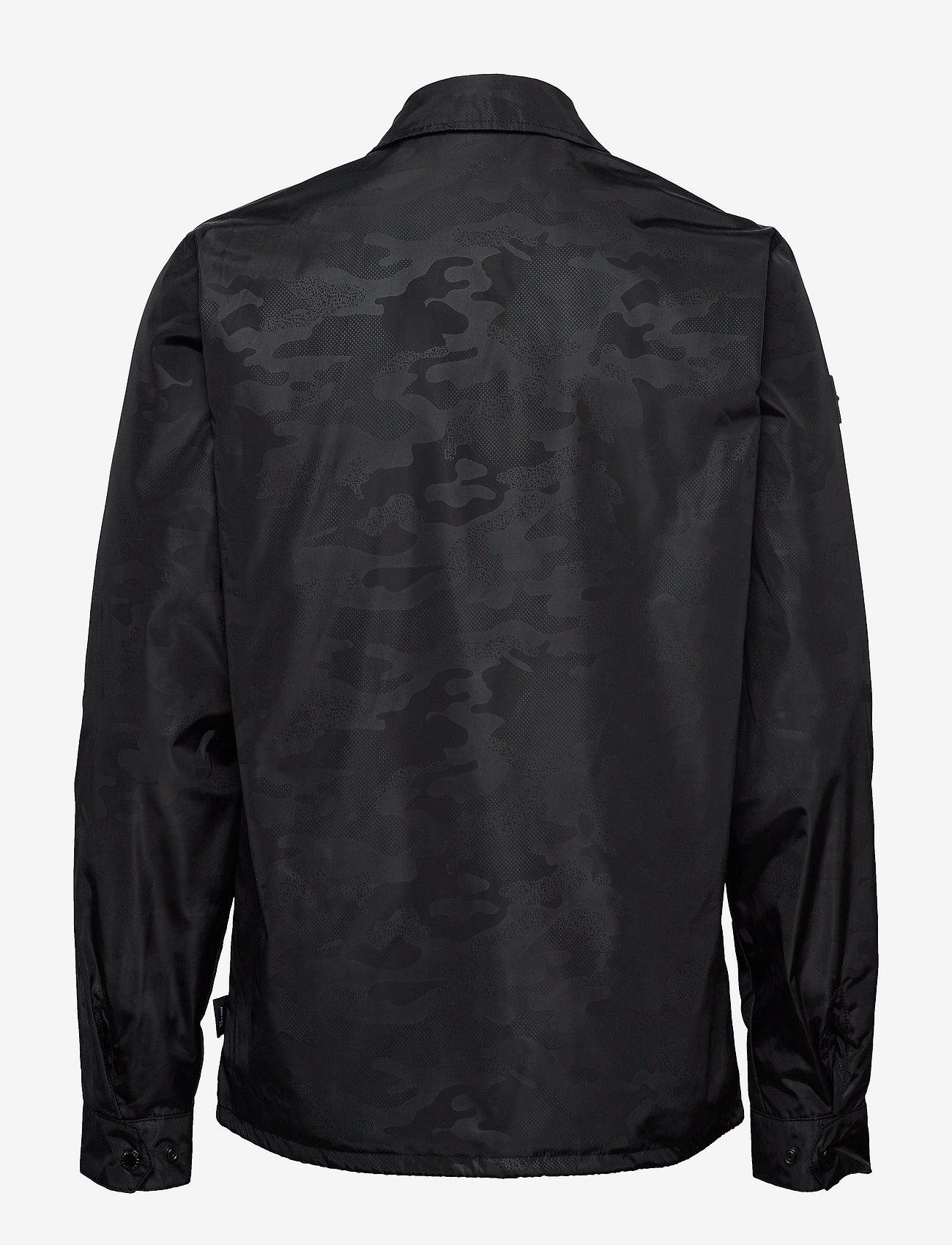 Surplus Goods Coach Jacket (Black Camo) (349.50 kr) - Superdry 7p20GMgM