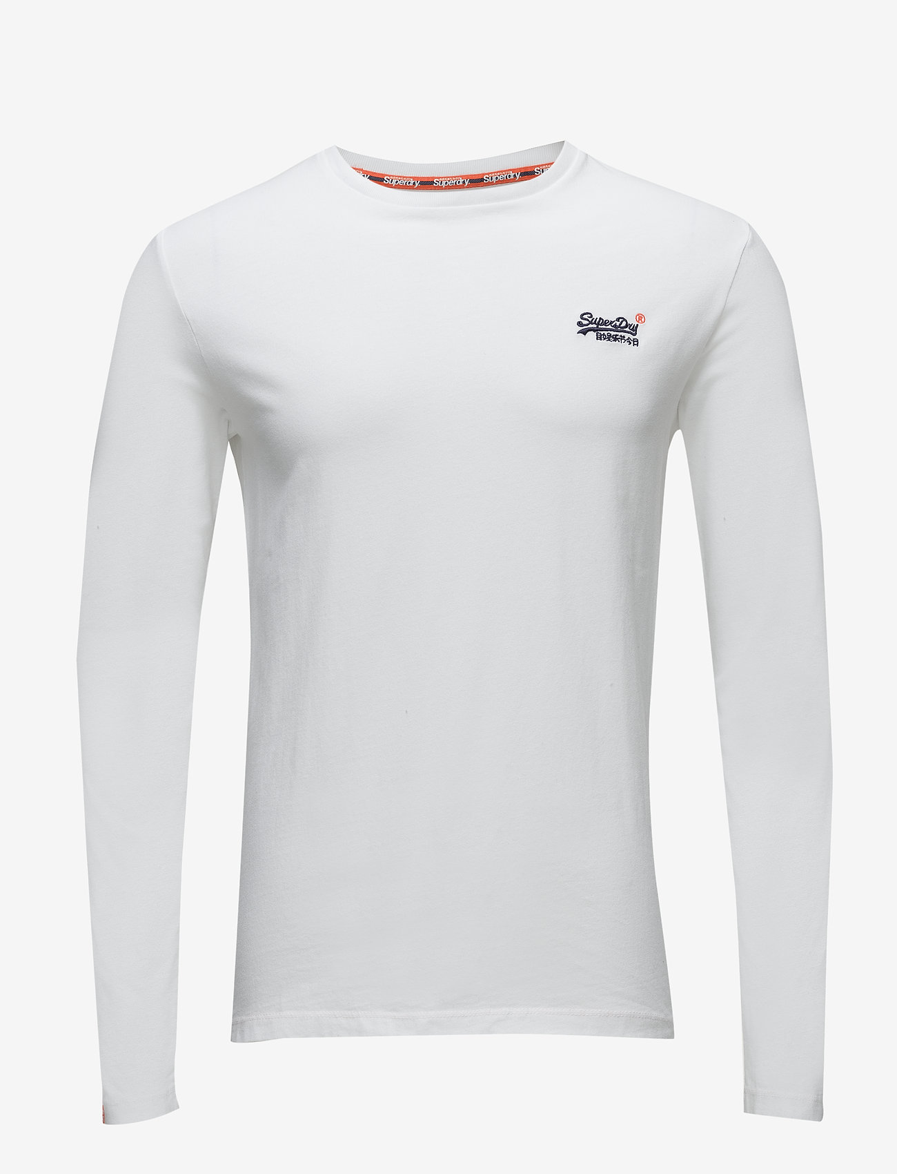 Superdry Mens O L Vintage Embroidery L//S Tee Long Sleeve Top