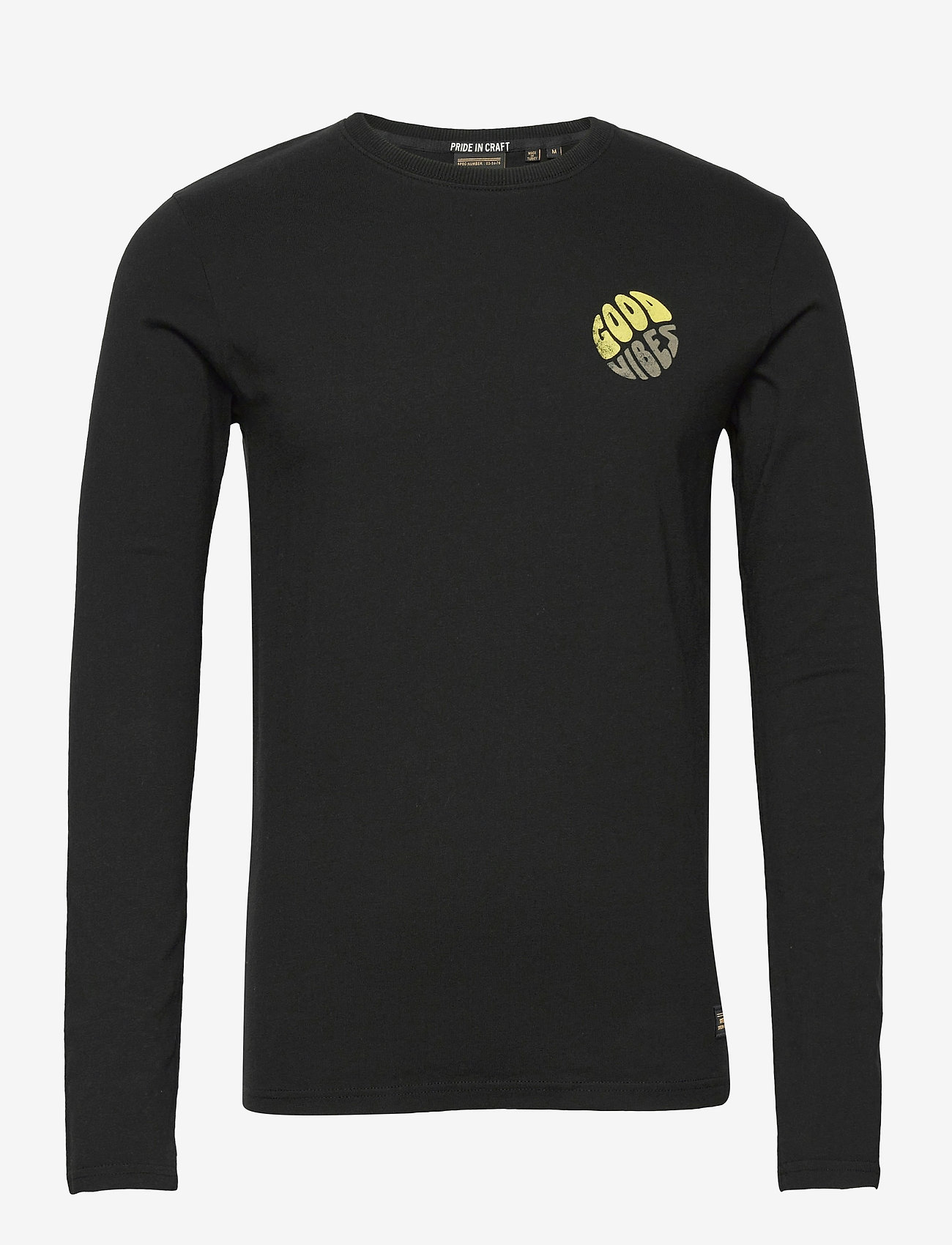 Superdry - MILITARY GRAPHIC LS TEE - t-shirts à manches longues - black - 0
