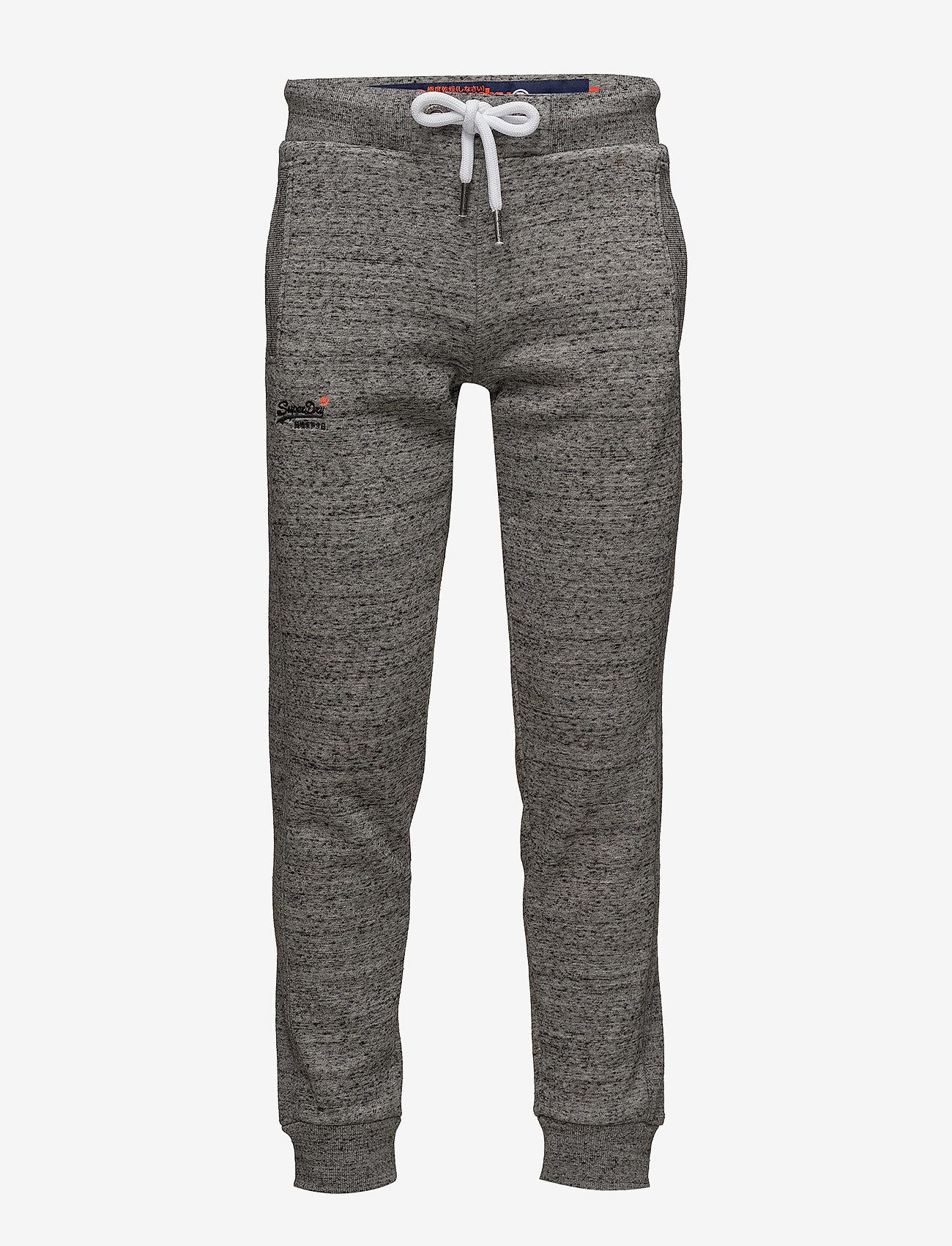 Superdry - ORANGE LABEL JOGGER - pants - flint grey grit - 0