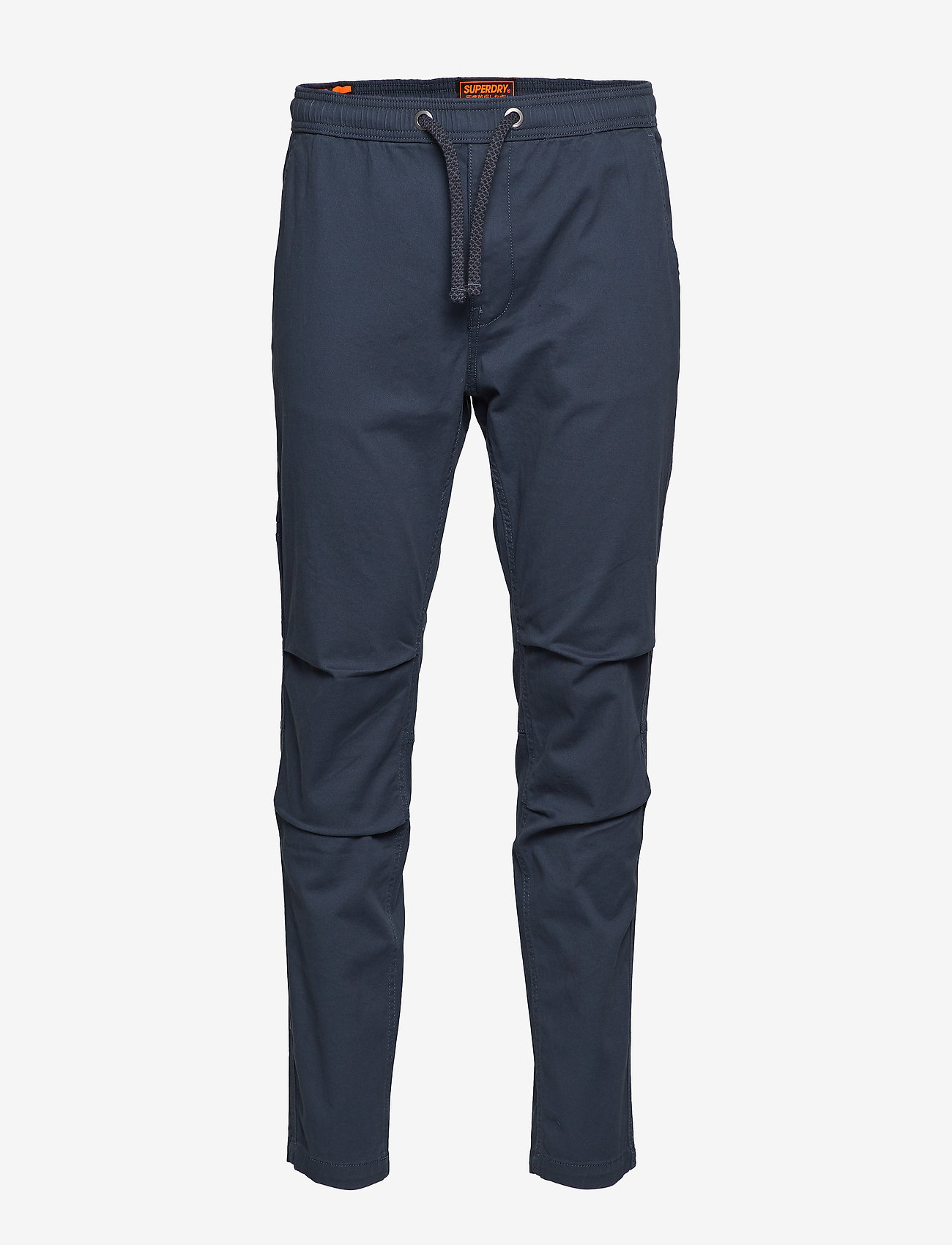 Superdry - CORE UTILITY PANT - bojówki - drift blue - 0