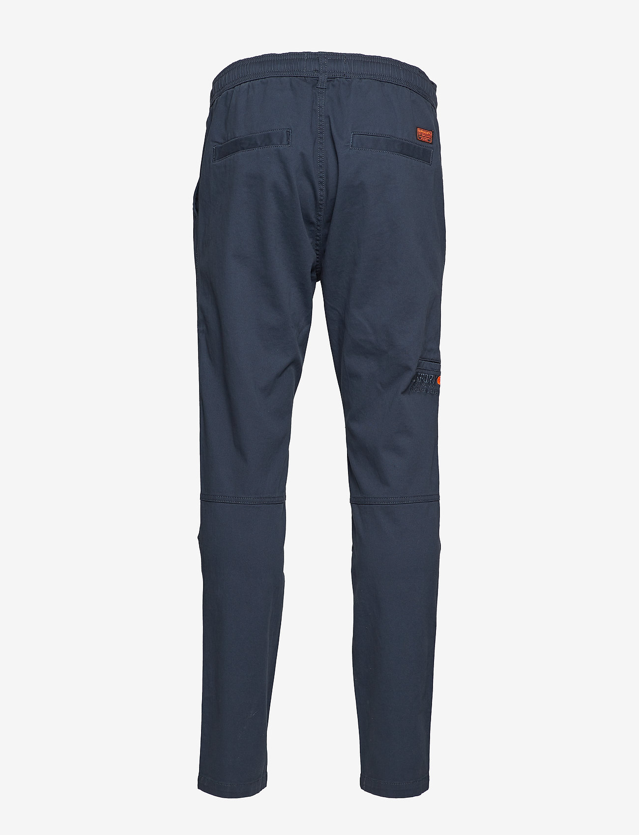 Superdry - CORE UTILITY PANT - bojówki - drift blue - 1